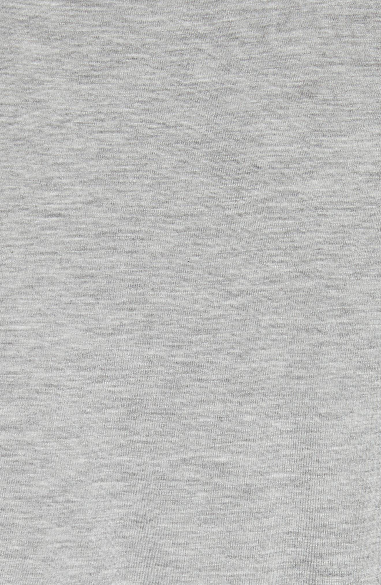 Yari Blouson Dress,                             Alternate thumbnail 5, color,                             Grey