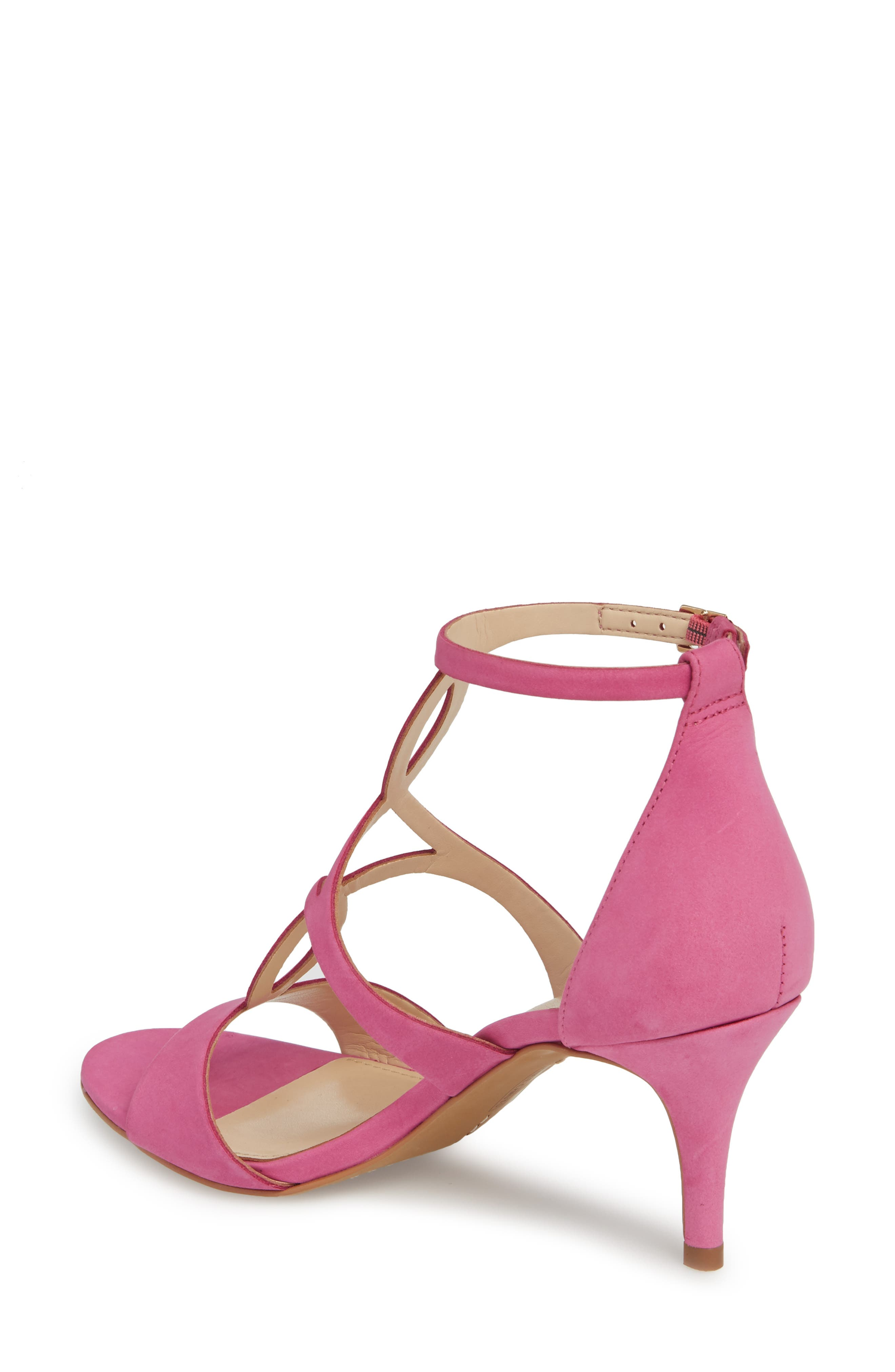 Payto Sandal,                             Alternate thumbnail 2, color,                             Pink Leather