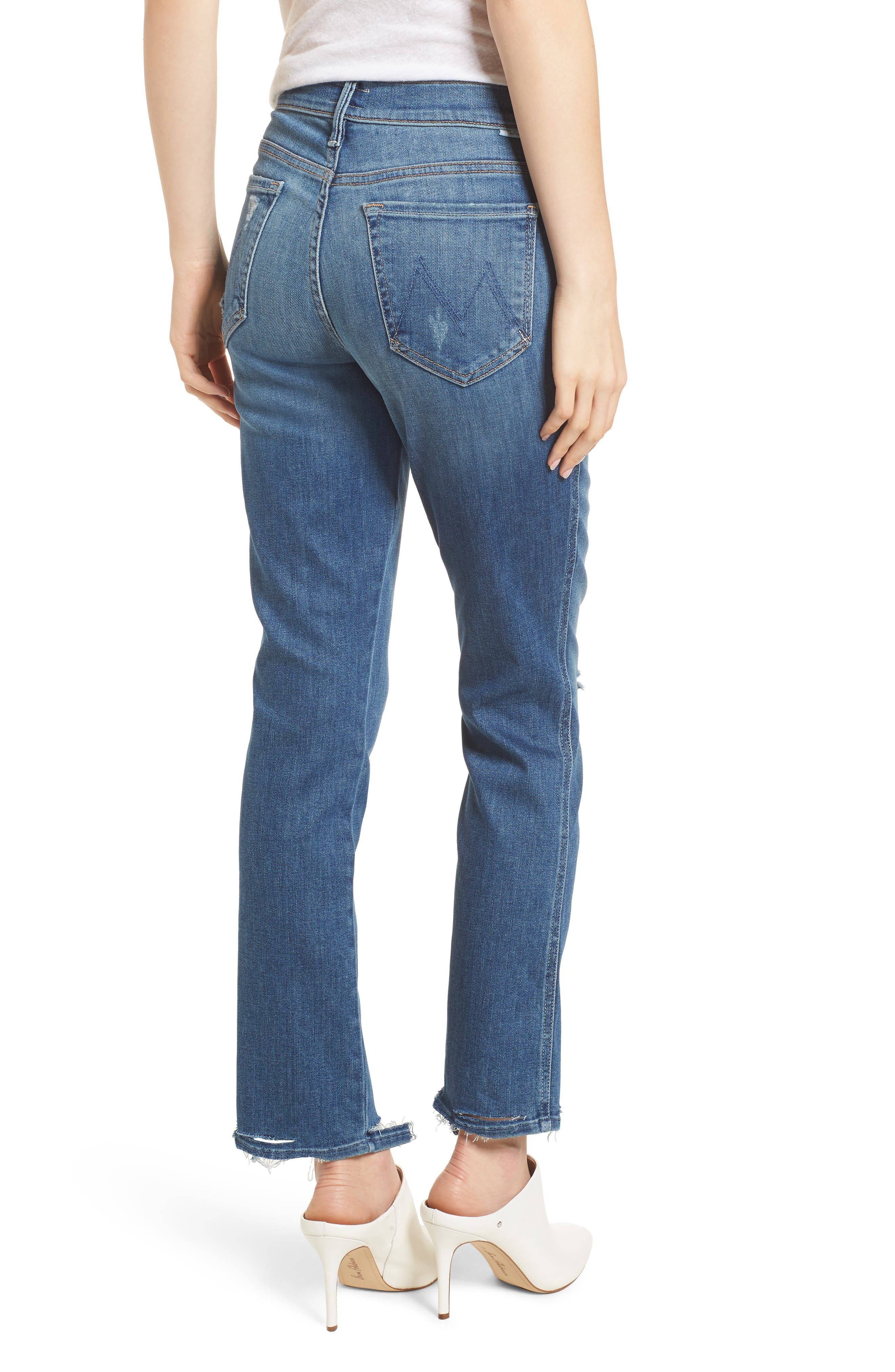 The Rascal Ankle Straight Leg Jeans,                             Alternate thumbnail 3, color,                             Wild
