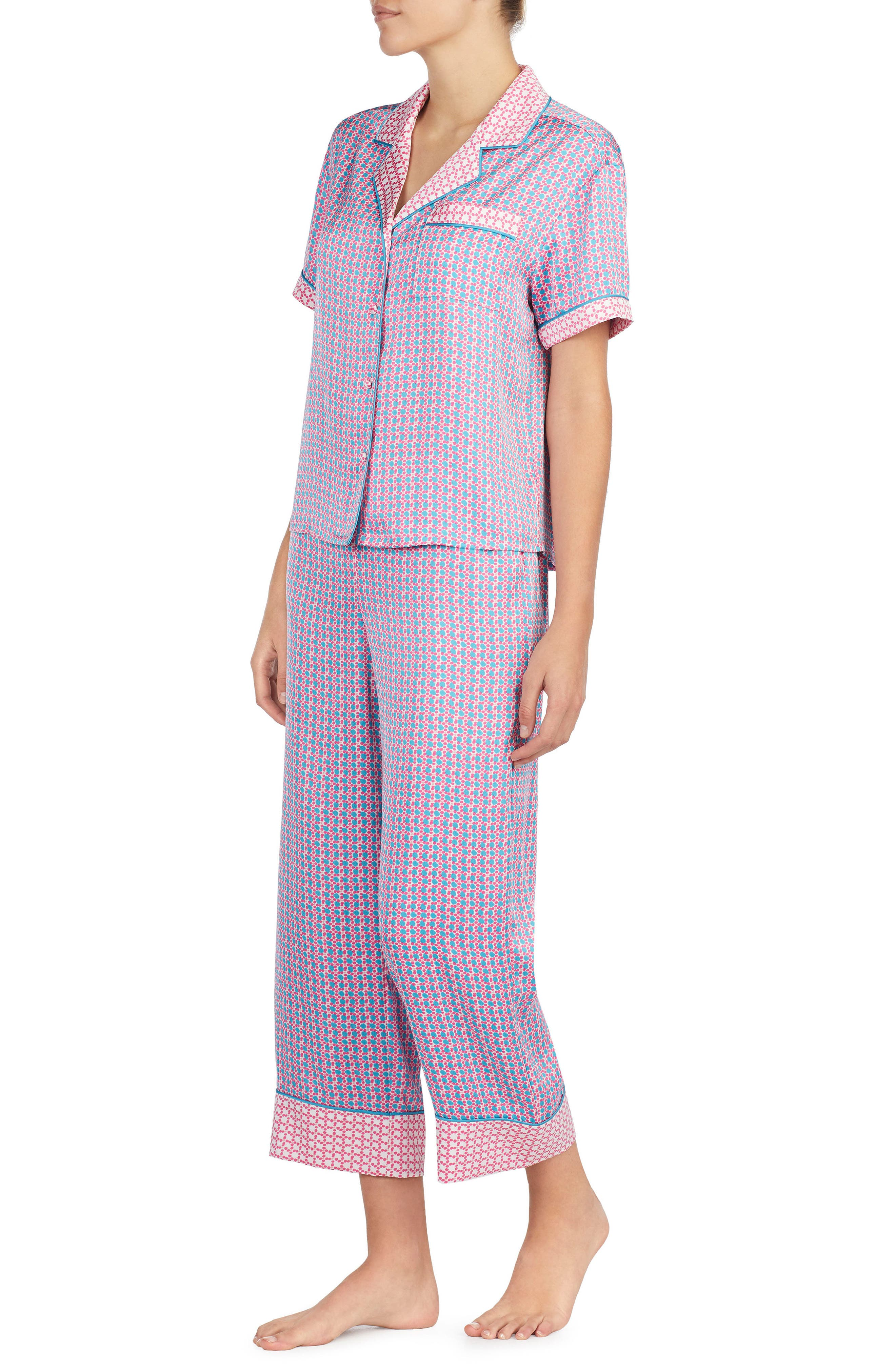 Alternate Image 3  - kate spade new york print pajamas