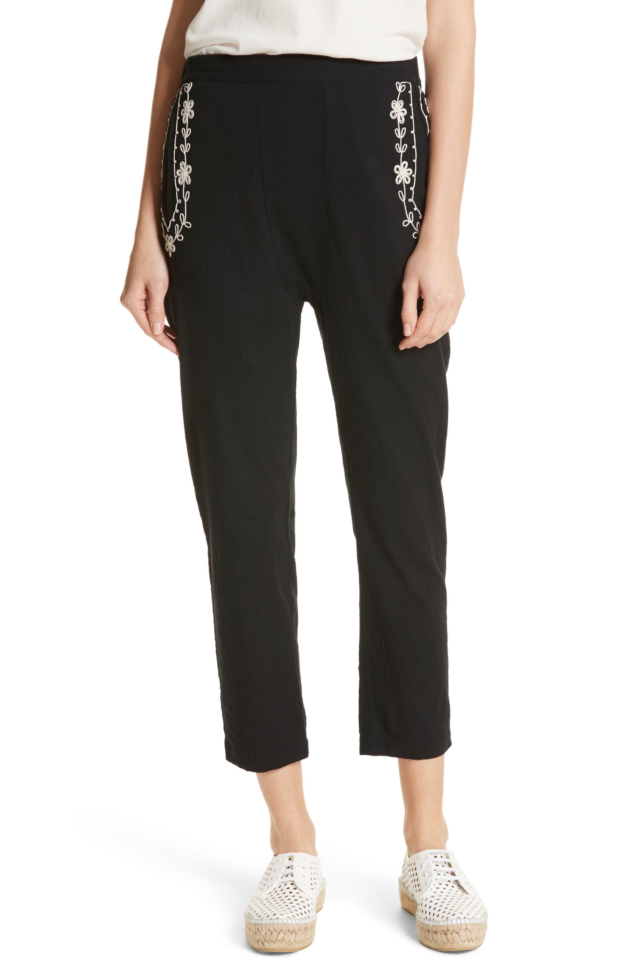 The Vineyard Pants,                         Main,                         color, Black