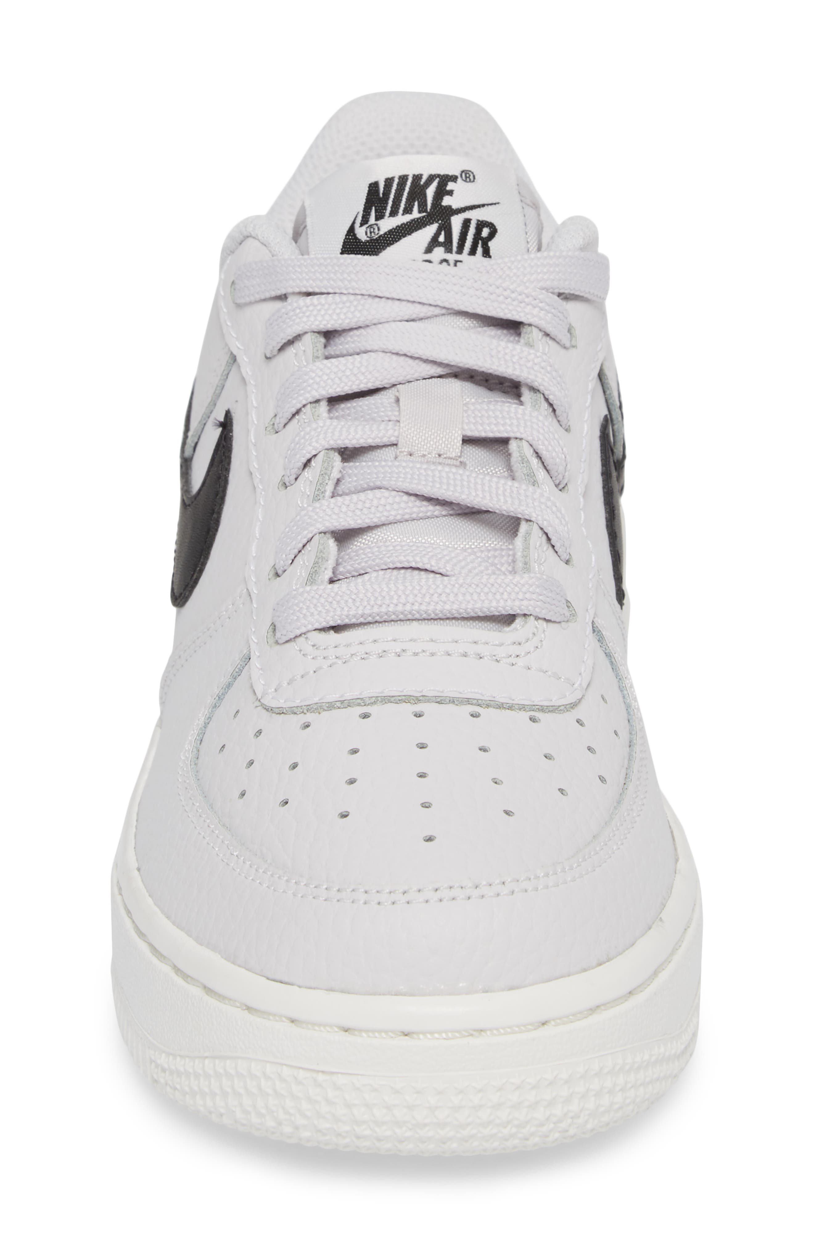 Alternate Image 4  - Nike Air Force 1 Sneaker (Big Kid)
