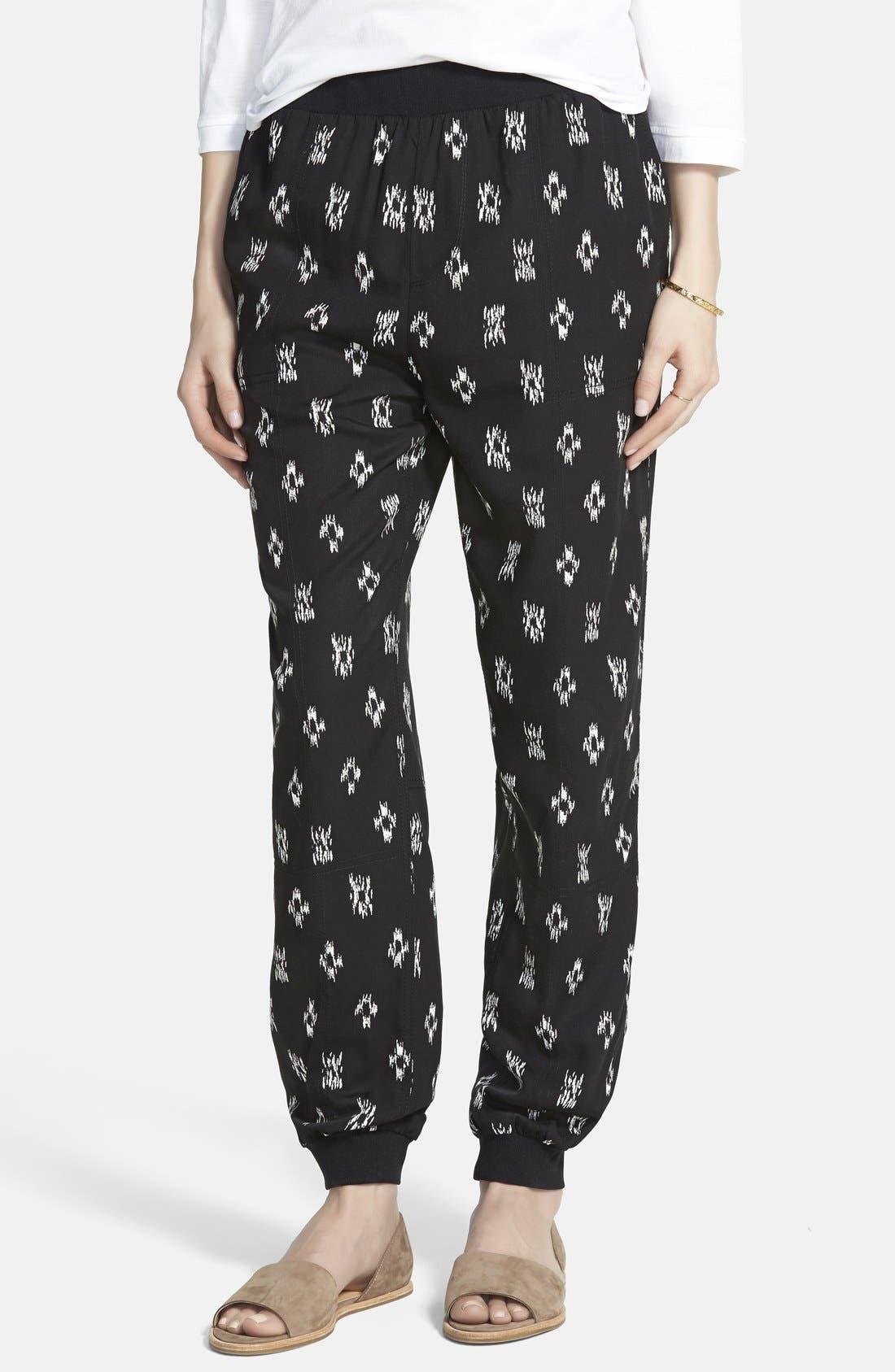 Alternate Image 1 Selected - Madewell Ikat Print Track Pants