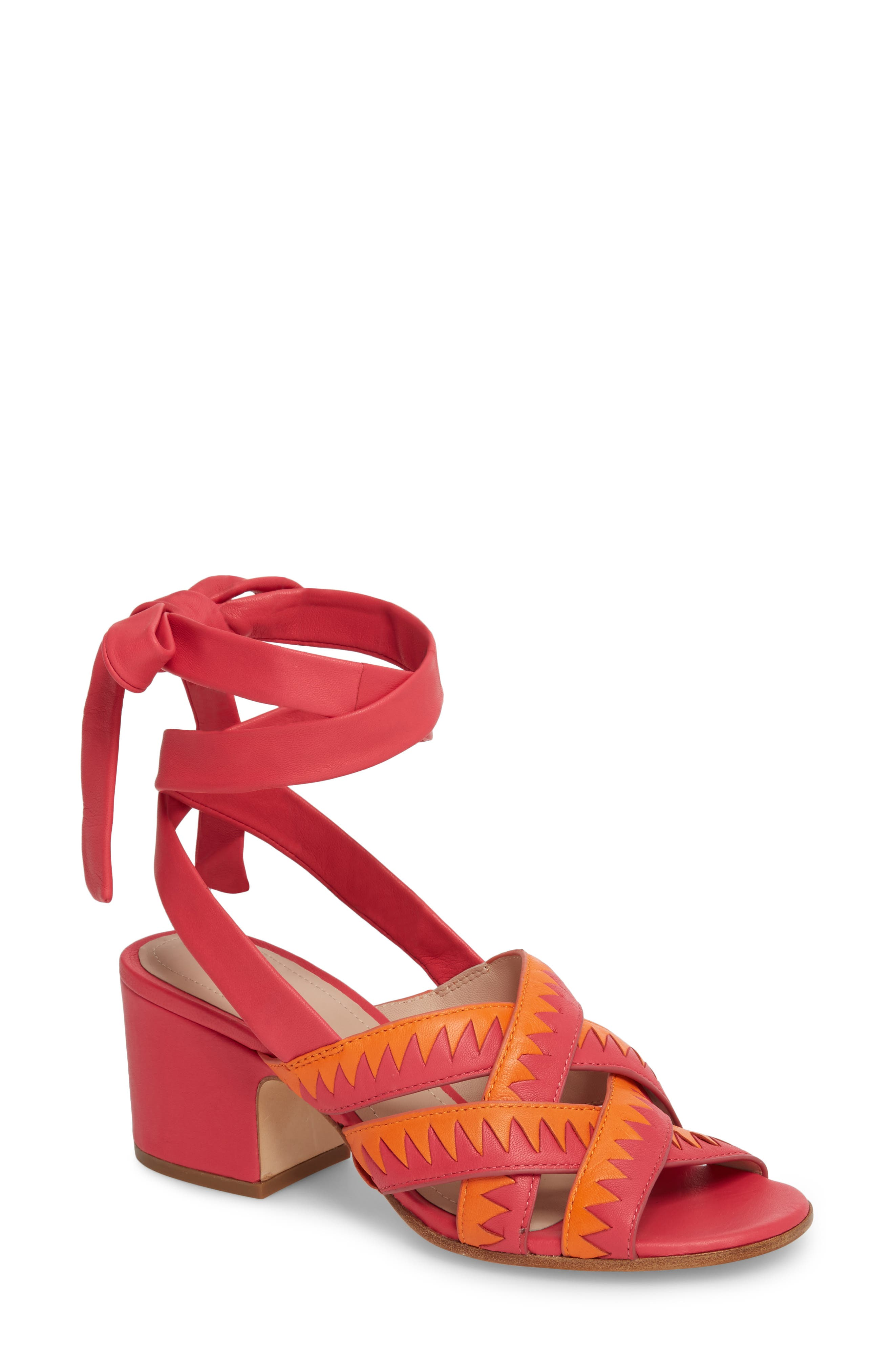 Pour la Victoire Anisa Ankle Wrap Sandal (Women)