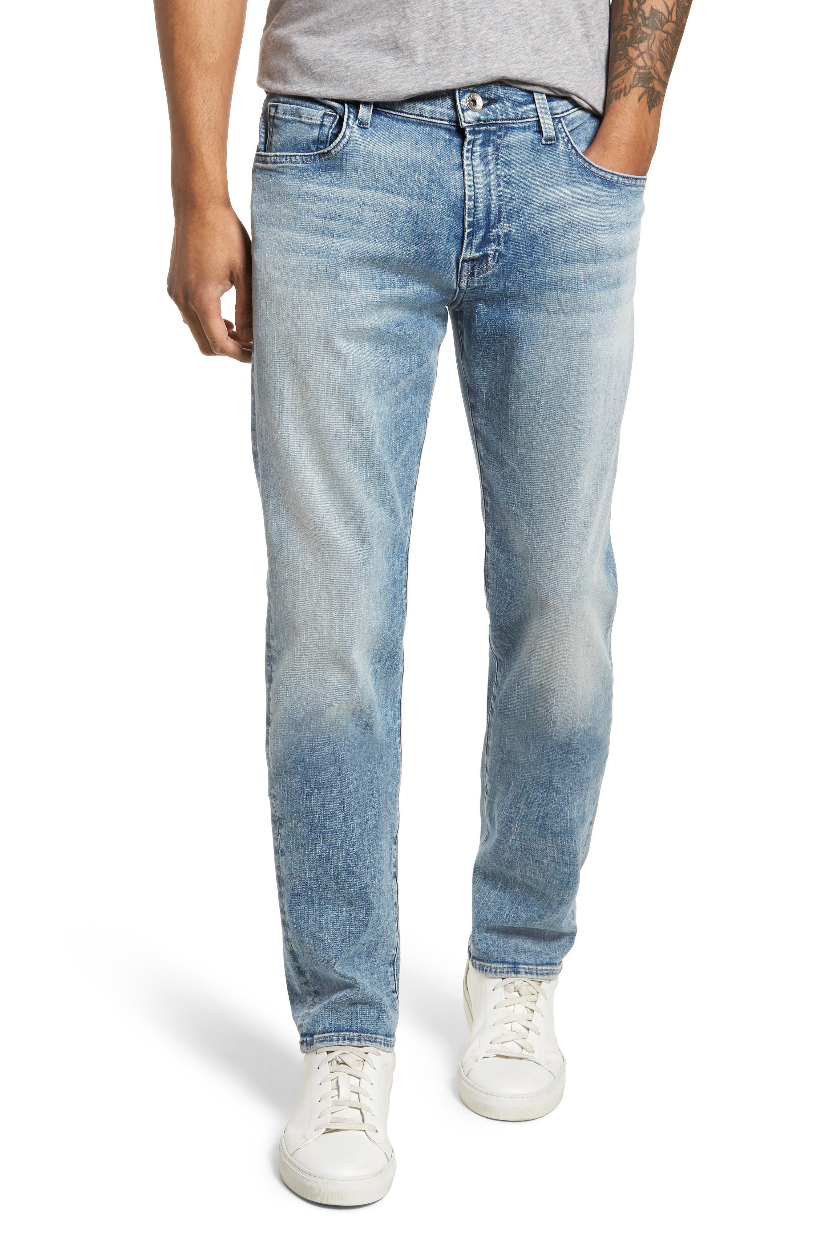 Adrien Slim Fit Jeans,                             Main thumbnail 1, color,                             Death Valley
