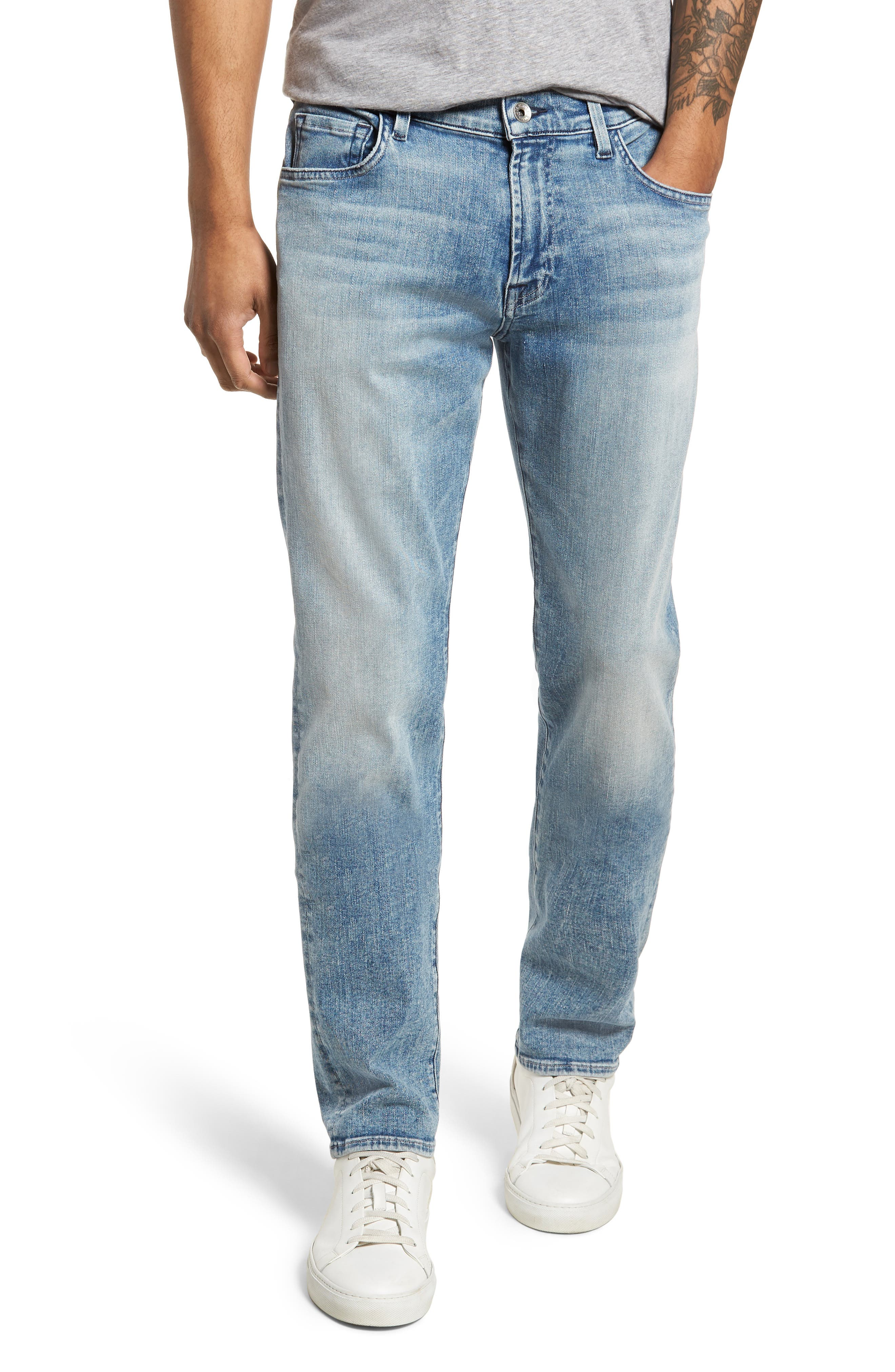Adrien Slim Fit Jeans,                         Main,                         color, Death Valley