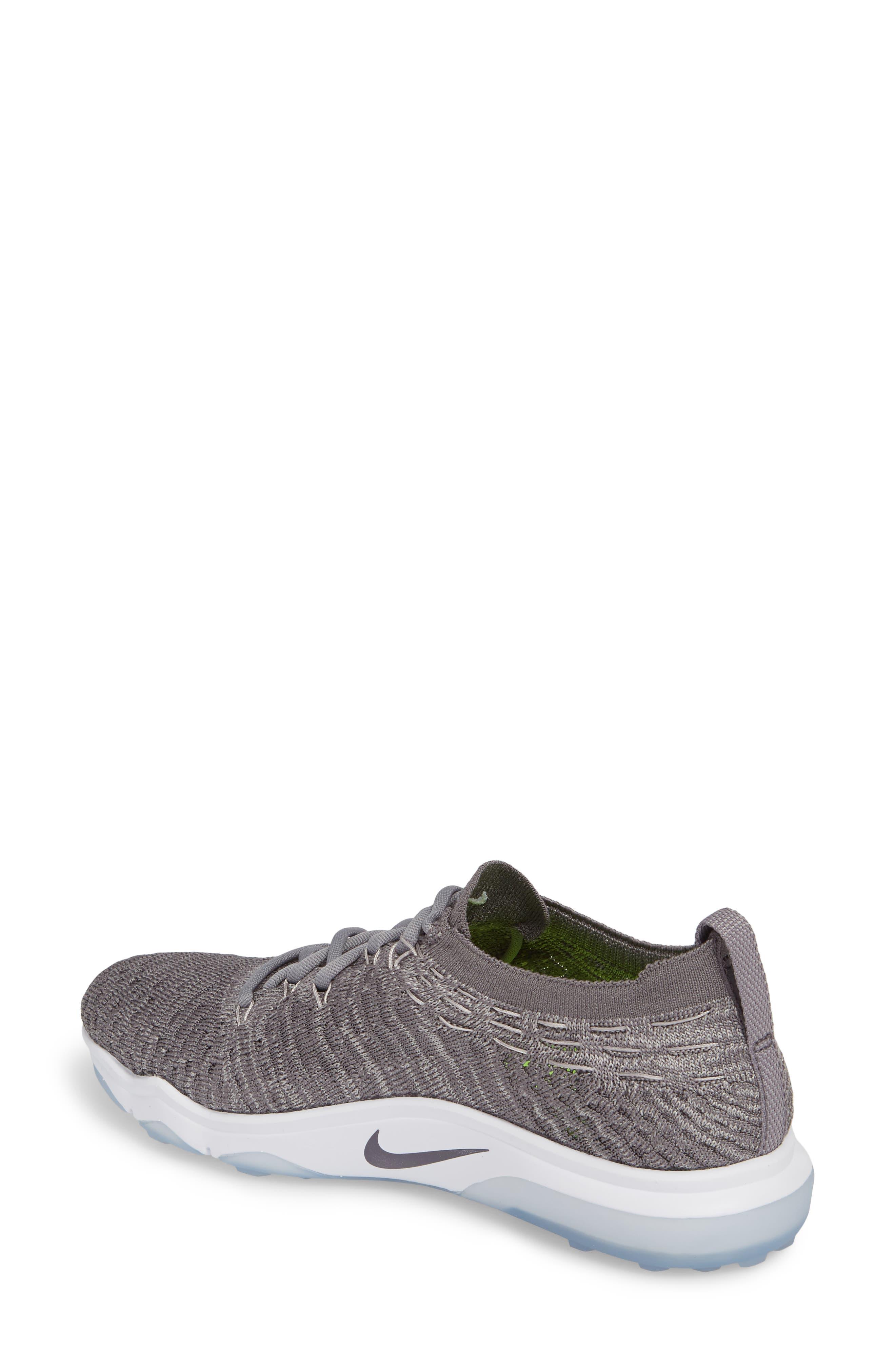 Alternate Image 2  - Nike Air Zoom Fearless Flyknit Lux Training Shoe (Women)