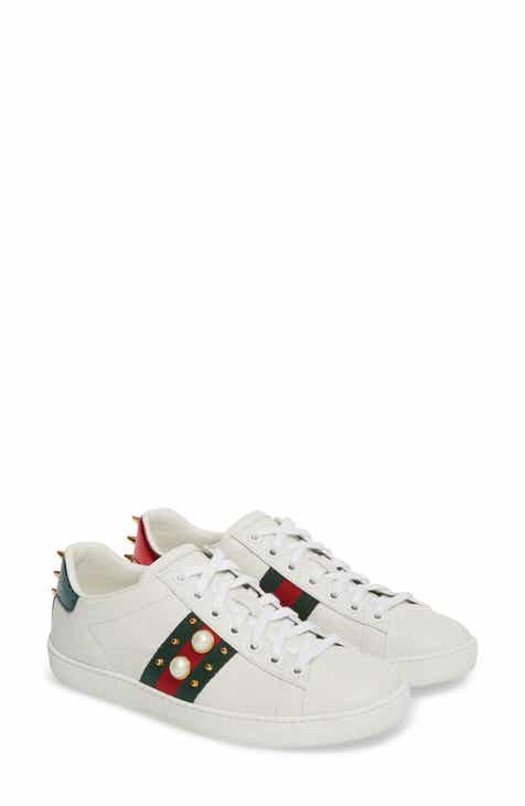 65f8c52482f Gucci New Ace Low Top Sneaker (Women)