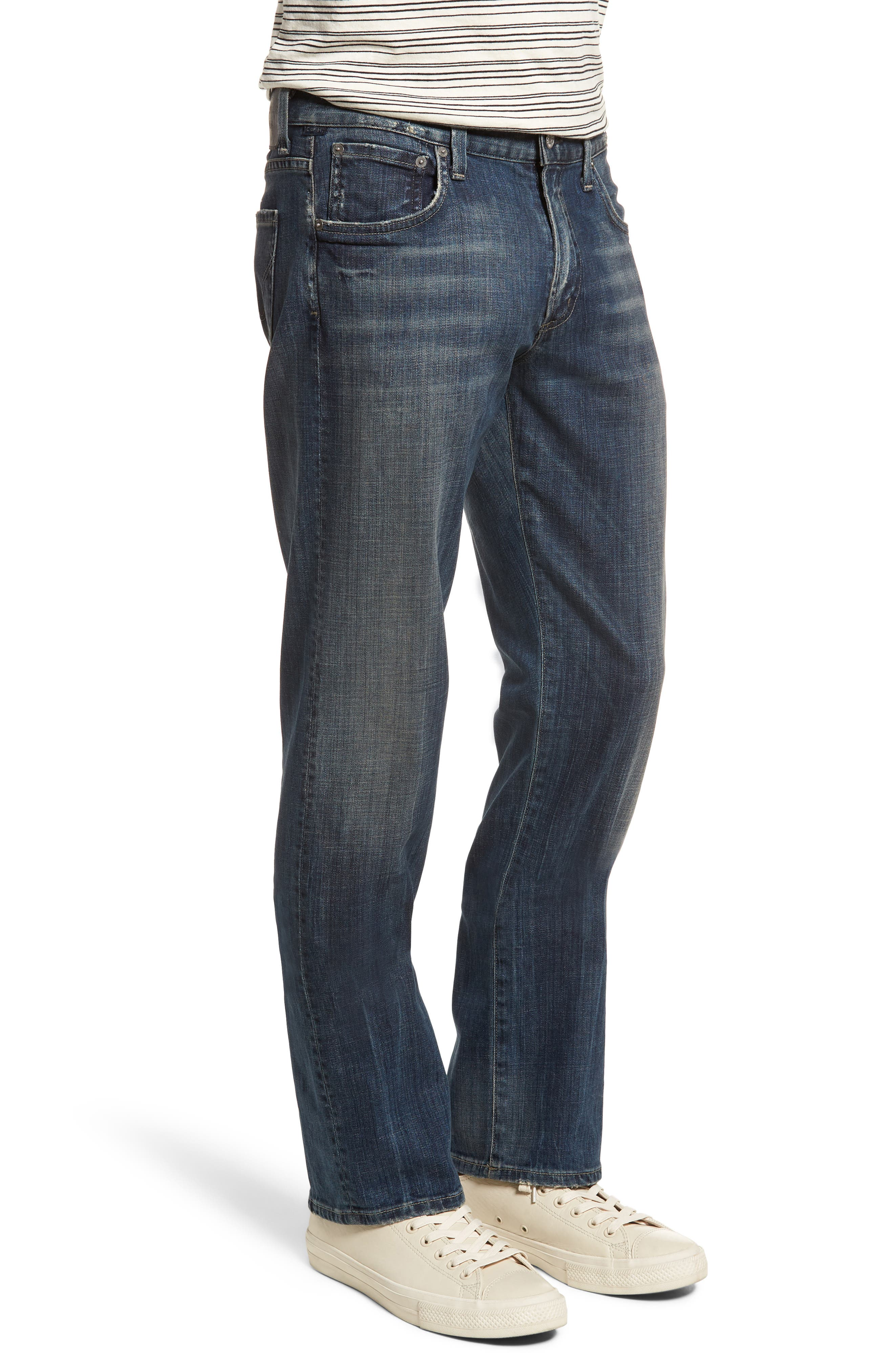 Sid Straight Leg Jeans,                             Alternate thumbnail 3, color,                             Reeves