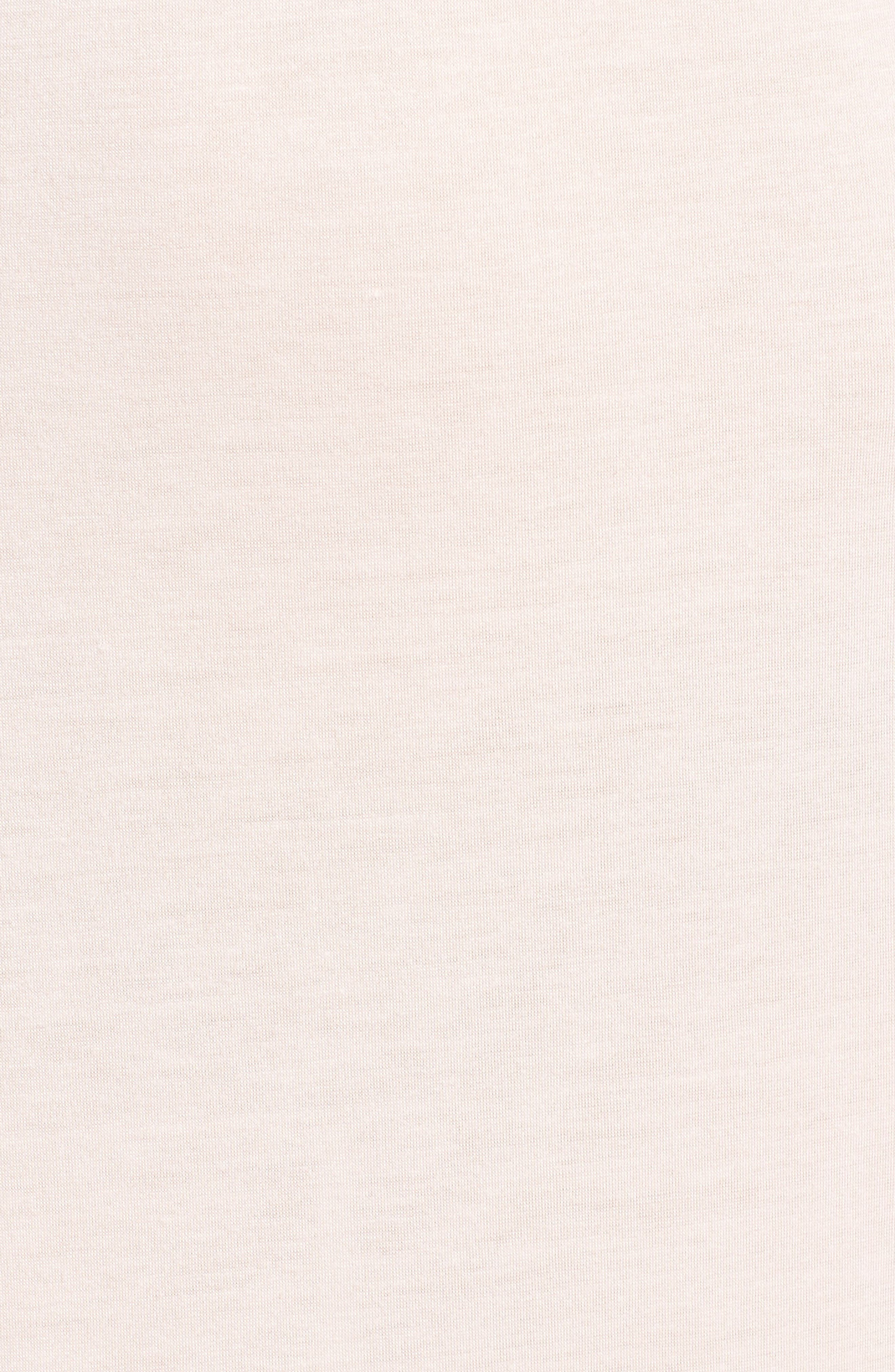 Luxe Shangri-La Nightgown,                             Alternate thumbnail 6, color,                             Blush Pink