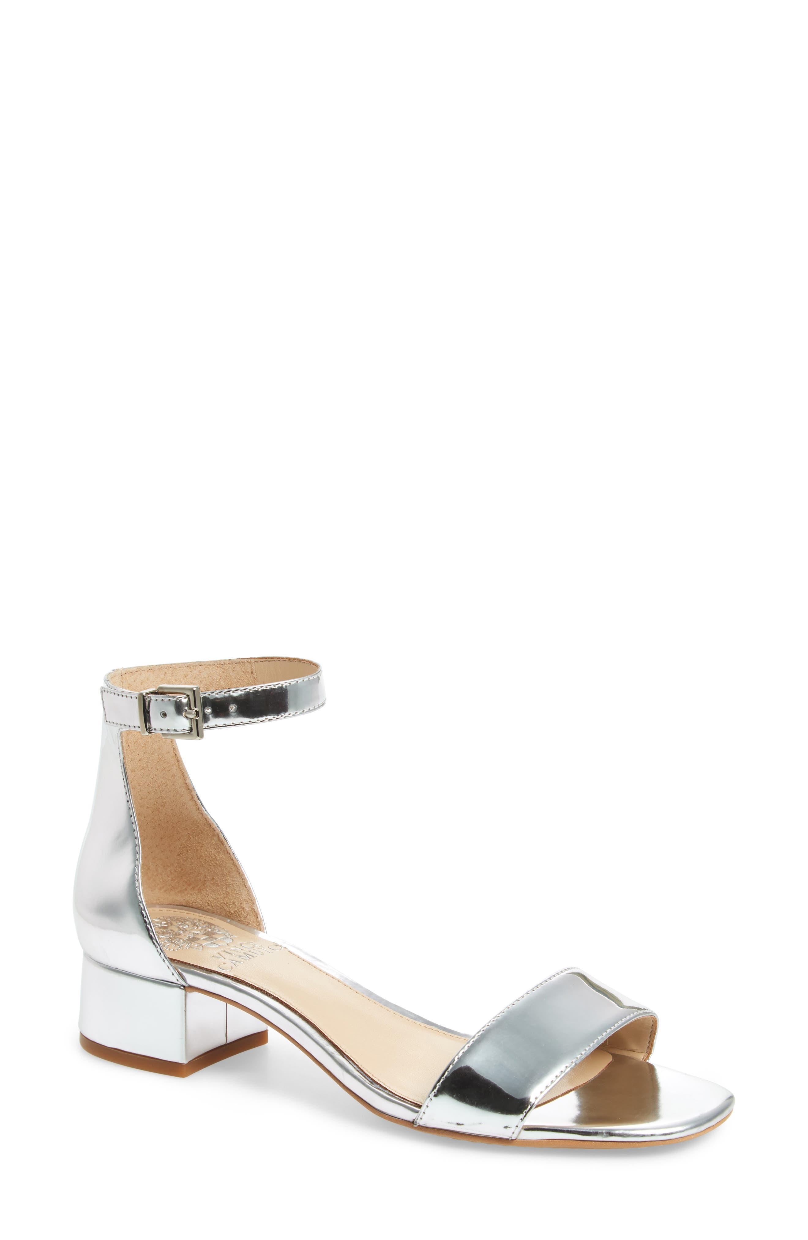 Sasseta Sandal,                         Main,                         color, Bright Silver