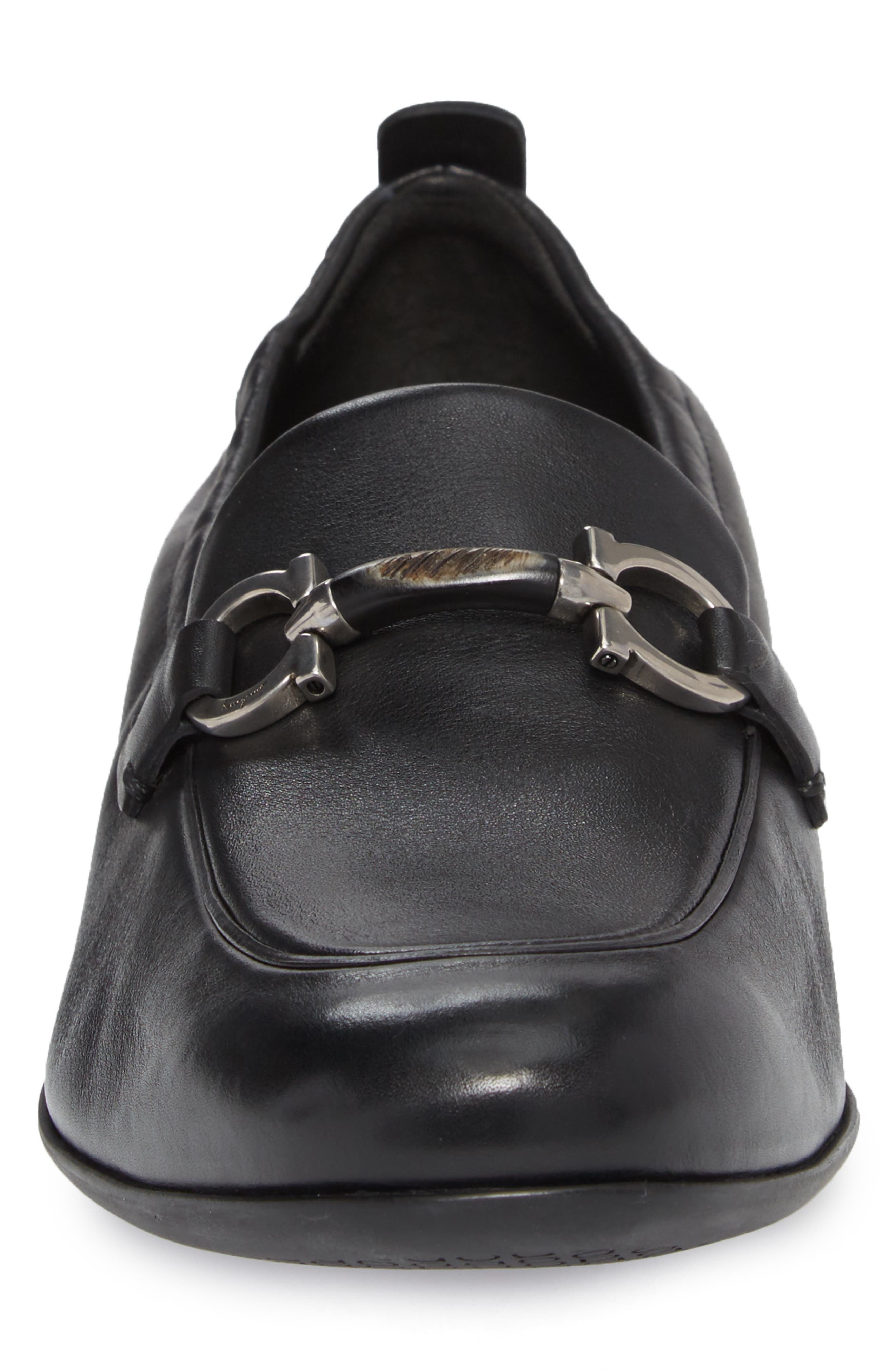Celso Bit Loafer,                             Alternate thumbnail 4, color,                             Nero