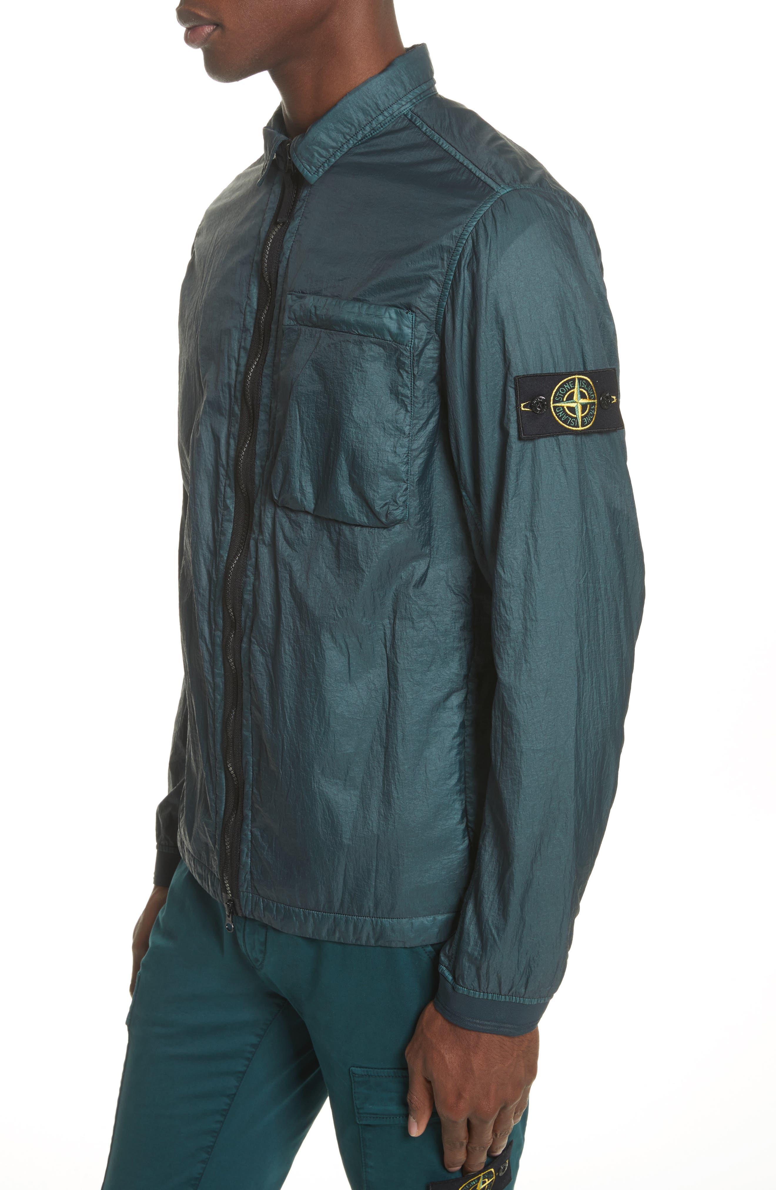 Nylon Jacket,                             Alternate thumbnail 4, color,                             Blue