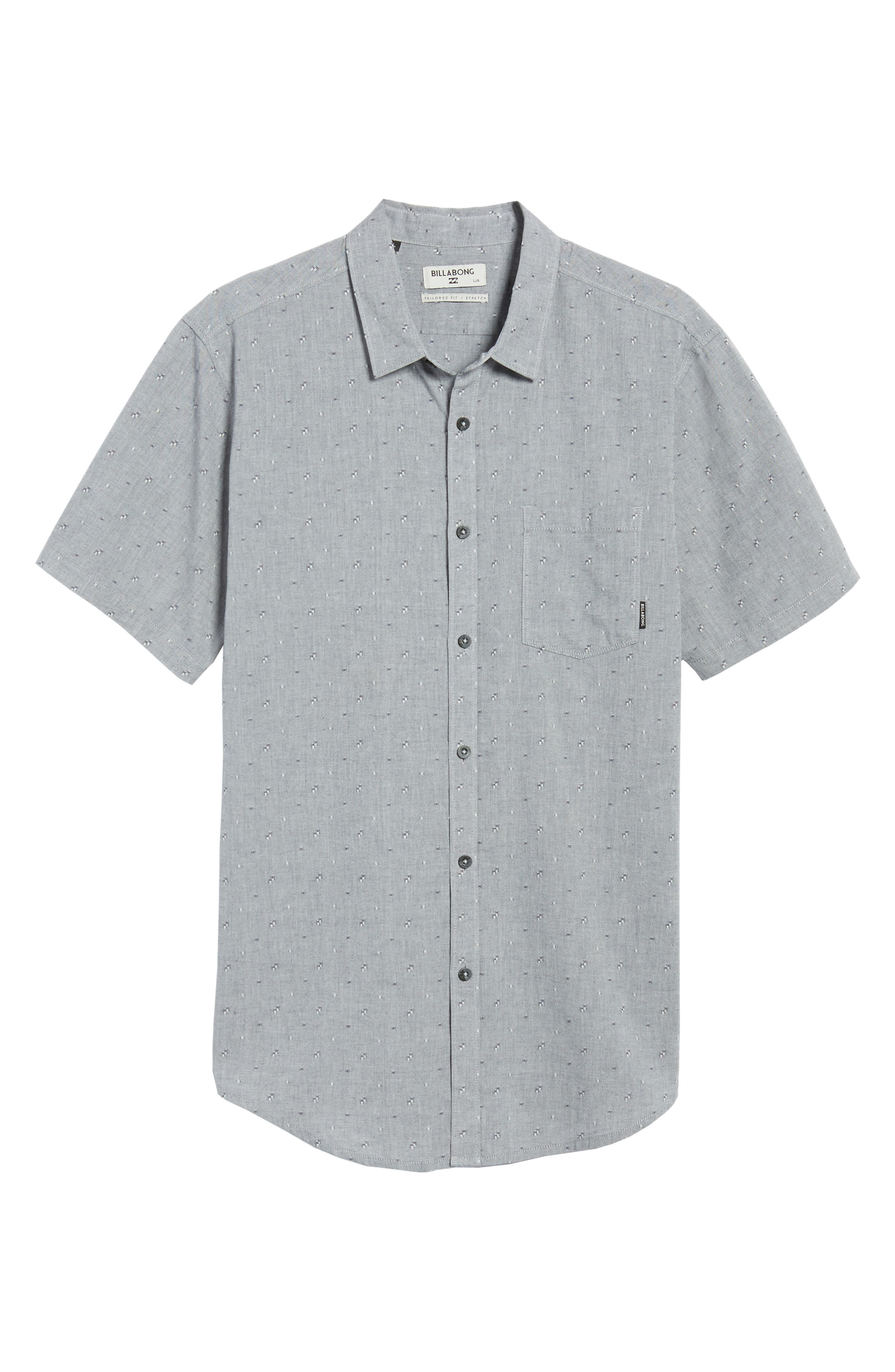Alternate Image 6  - Billabong Sundays Jacquard Woven Shirt
