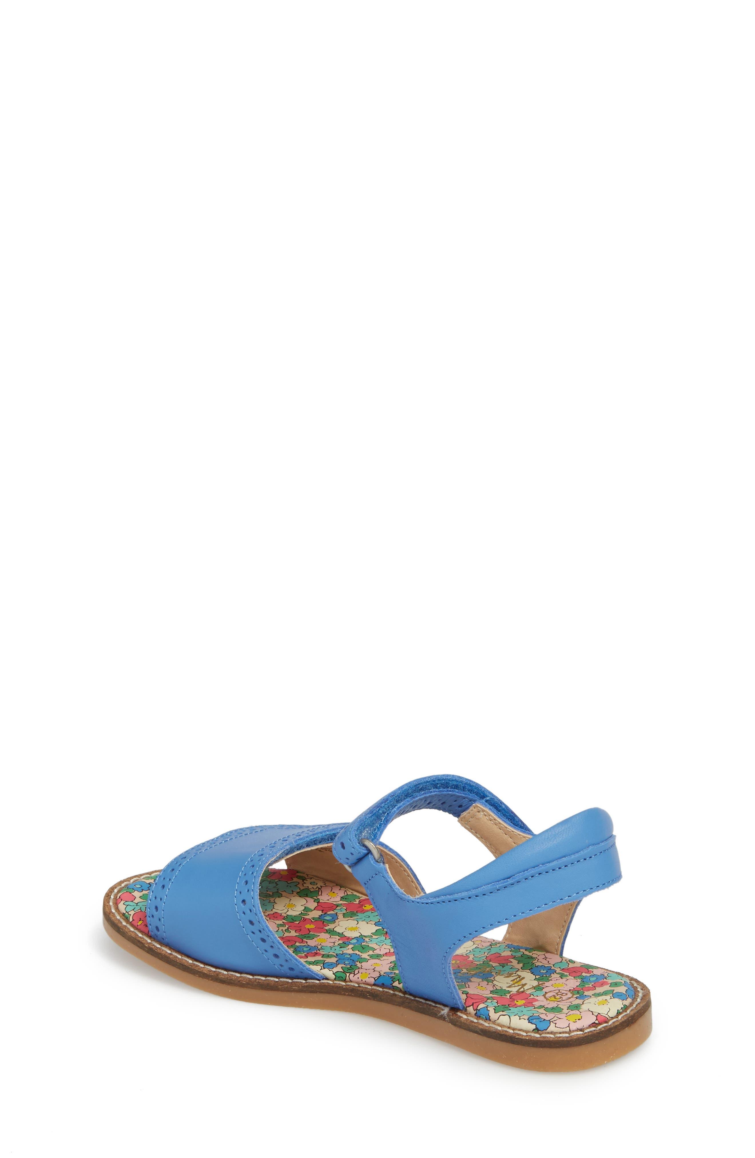 Adjustable Quarter Strap Sandal,                             Alternate thumbnail 2, color,                             Penzance Blue