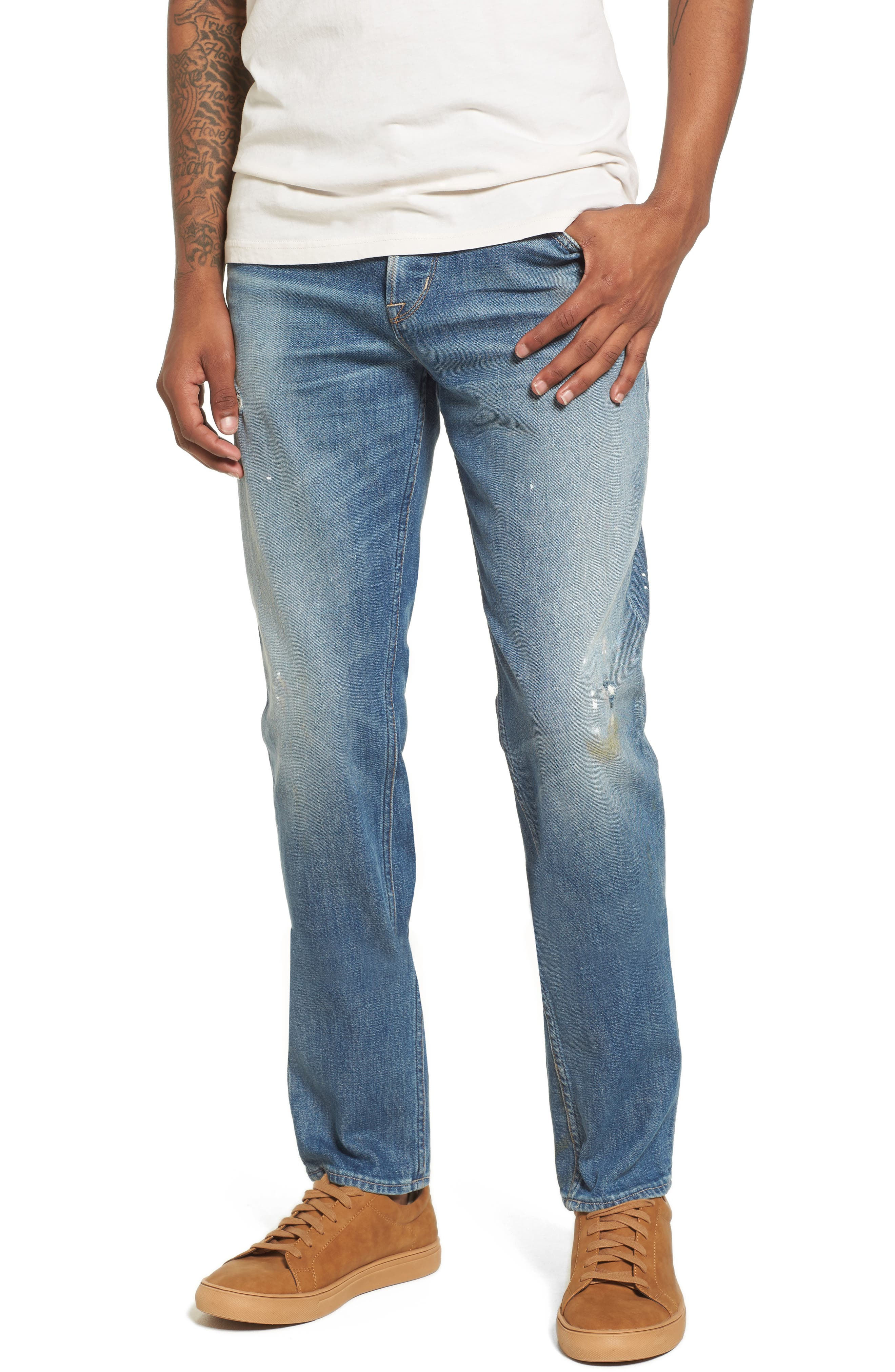 Hudson Jeans Axl Skinny Fit Jeans (Intoxicate)