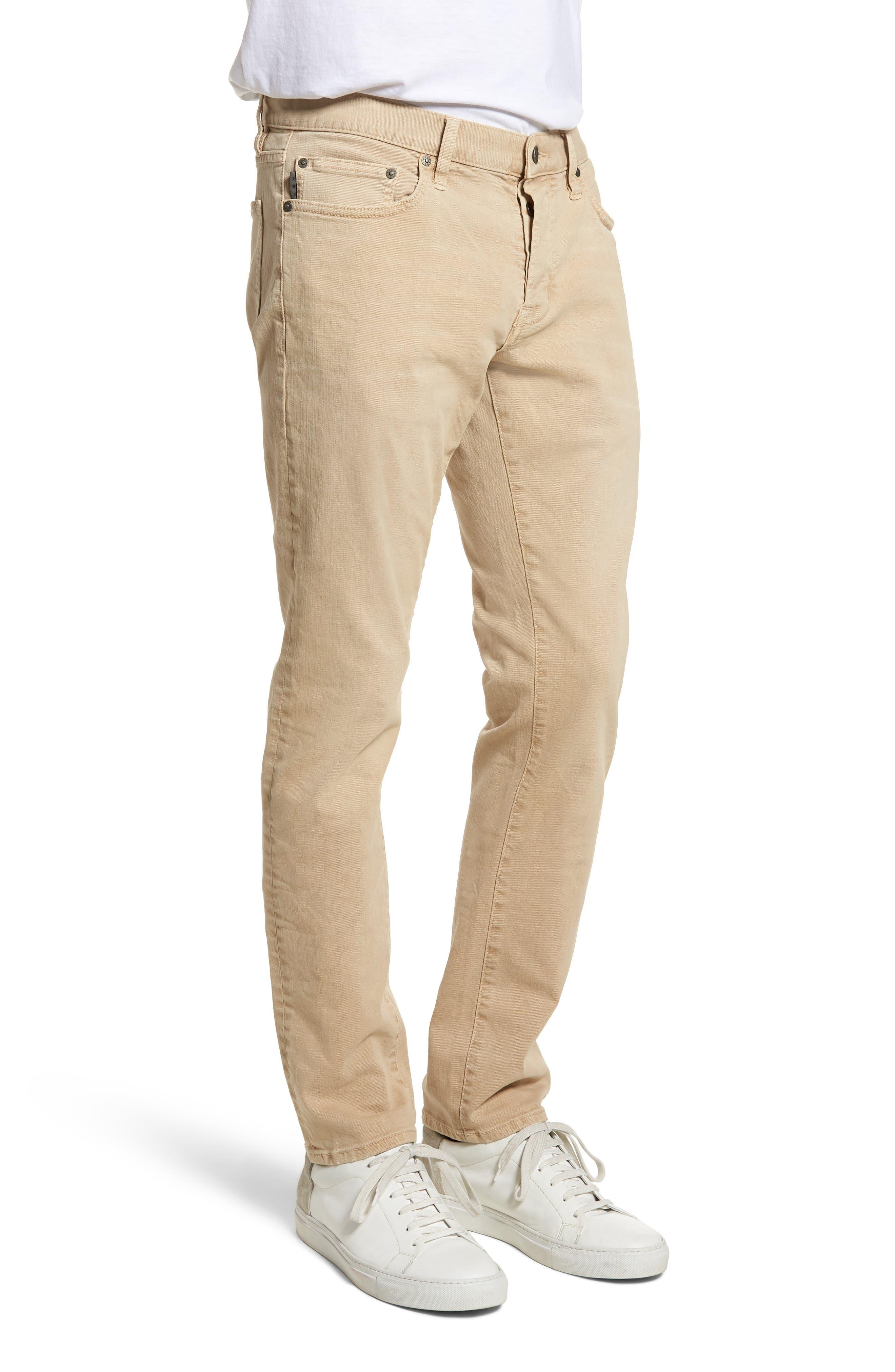 John Varvatos Star USA Wight Slim Fit Straight Leg Stretch Jeans,                             Alternate thumbnail 3, color,                             Twine