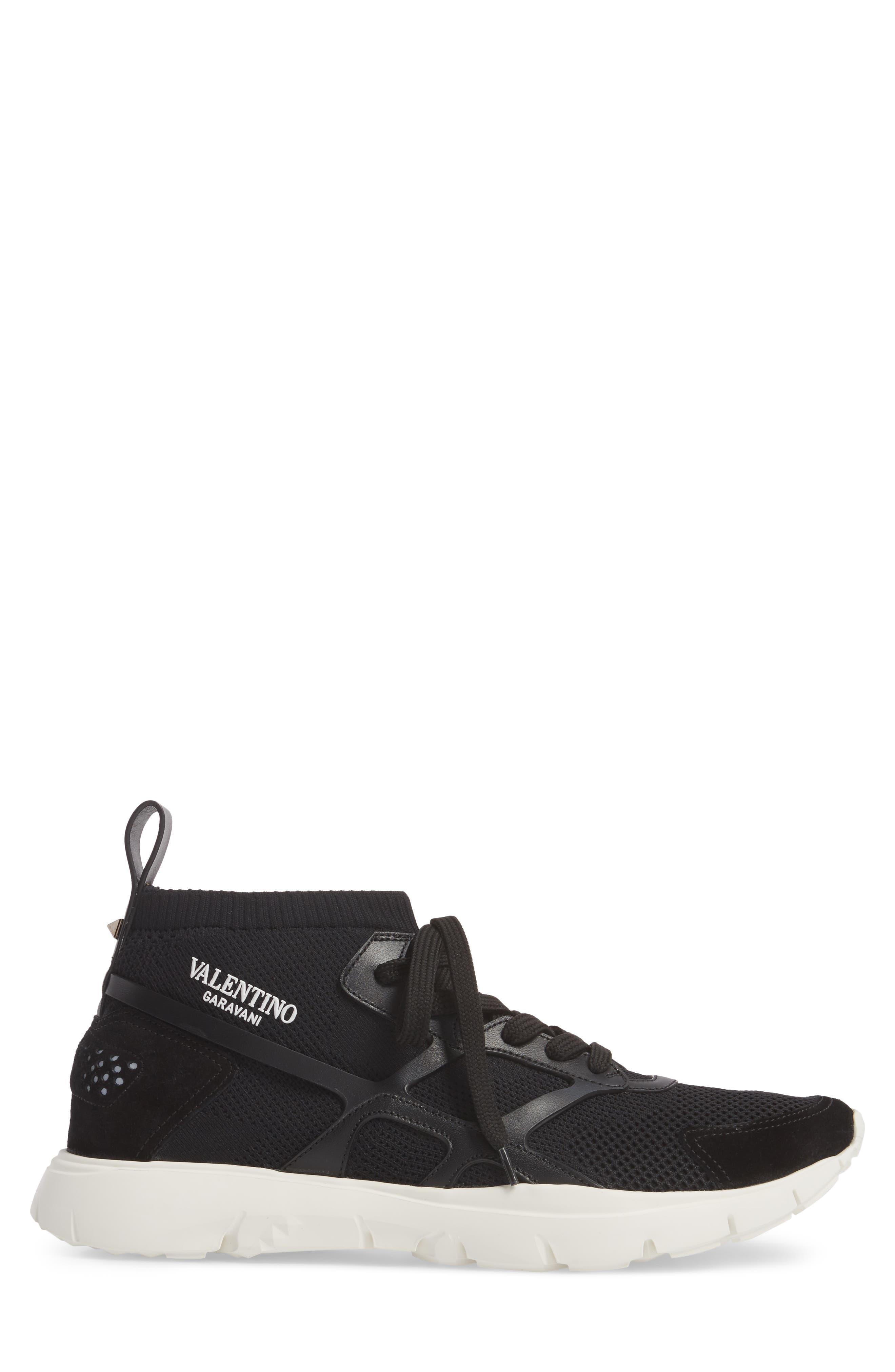 Sound High Sneaker,                             Alternate thumbnail 3, color,                             Nero