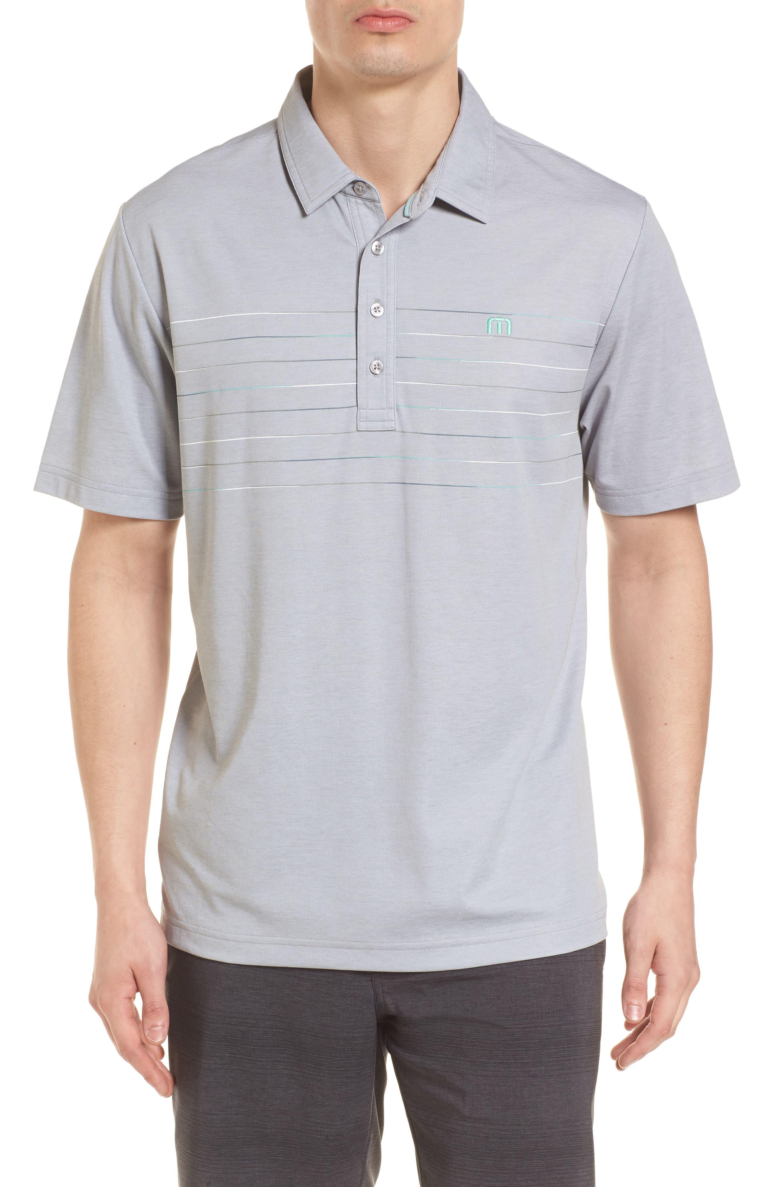 Good Good Polo Shirt,                         Main,                         color, Heather Grey Monument