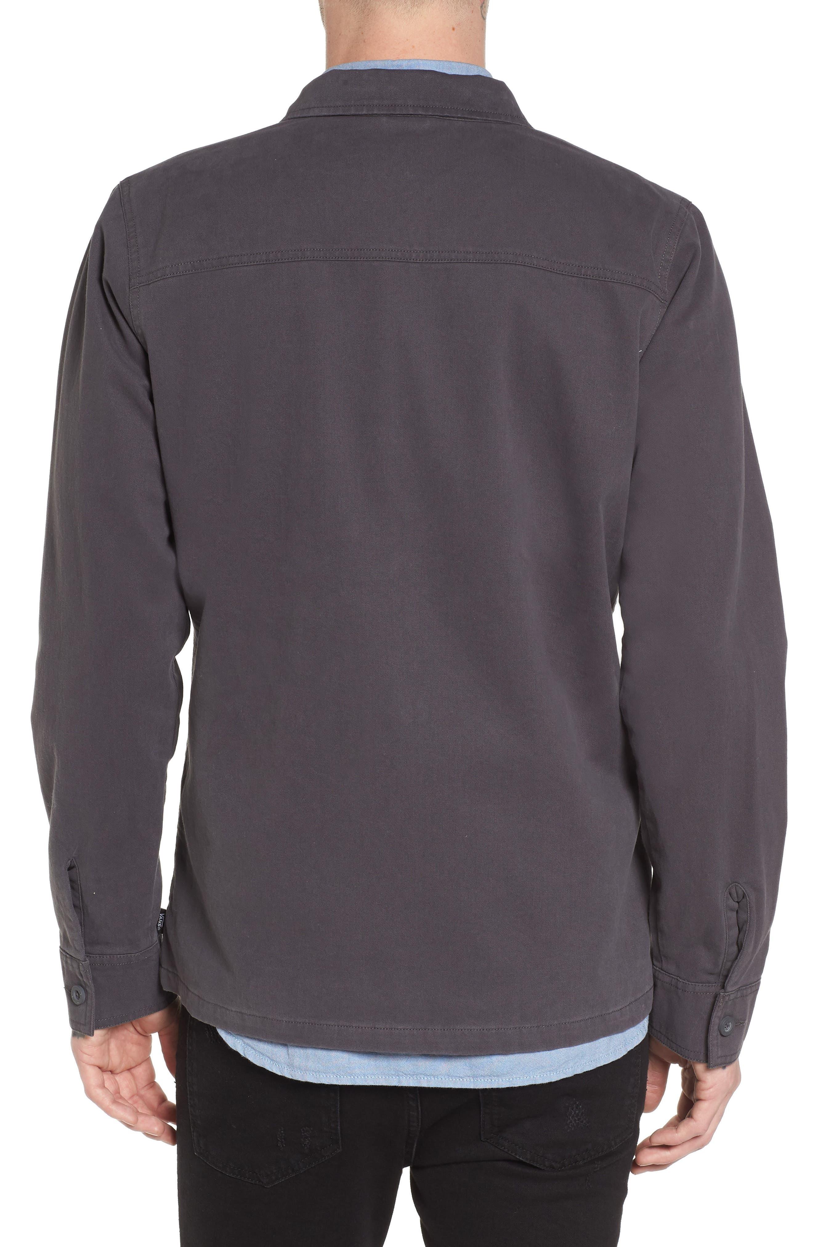 Belfair II Garage Jacket,                             Alternate thumbnail 2, color,                             Asphalt