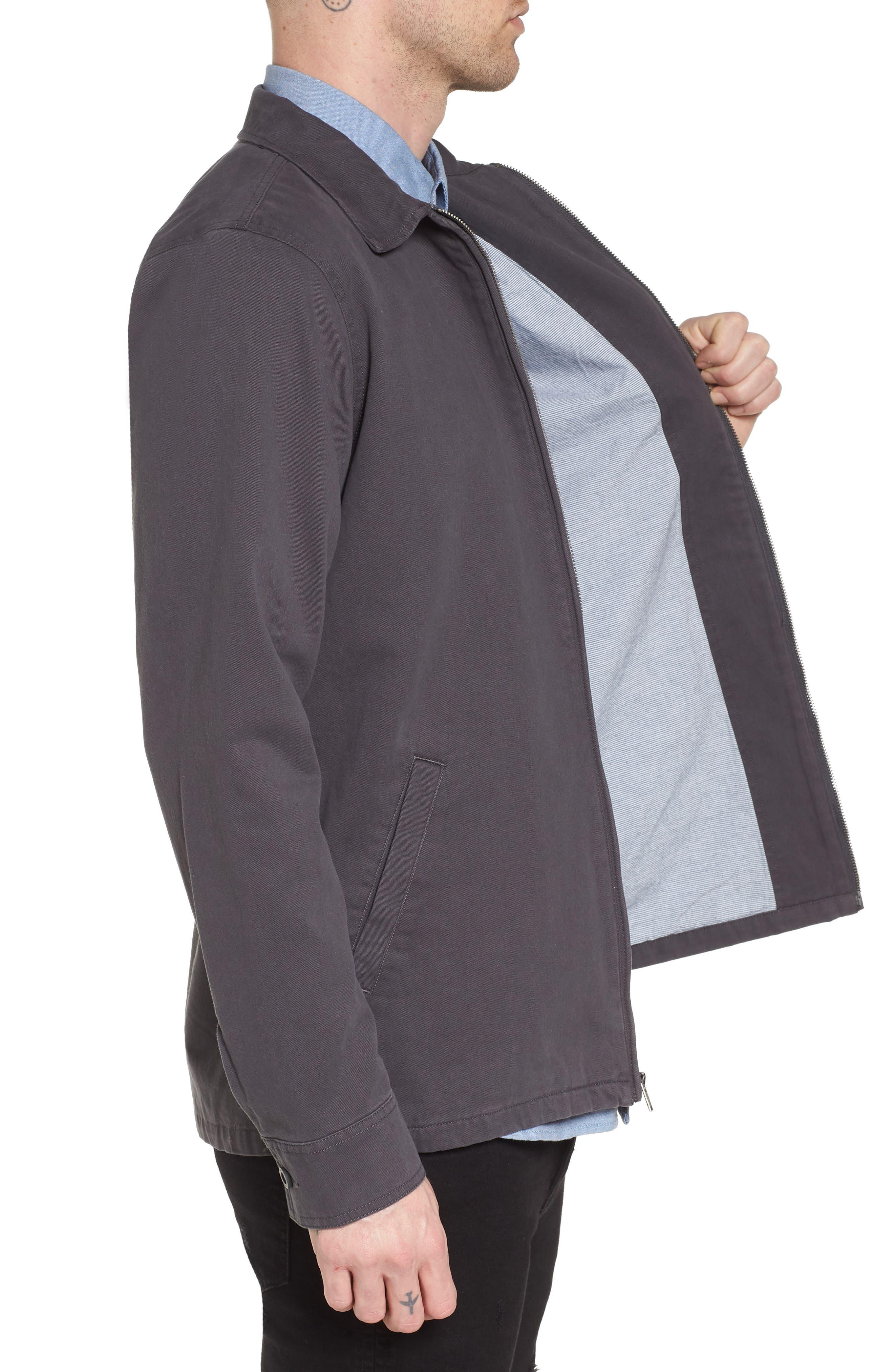 Belfair II Garage Jacket,                             Alternate thumbnail 3, color,                             Asphalt