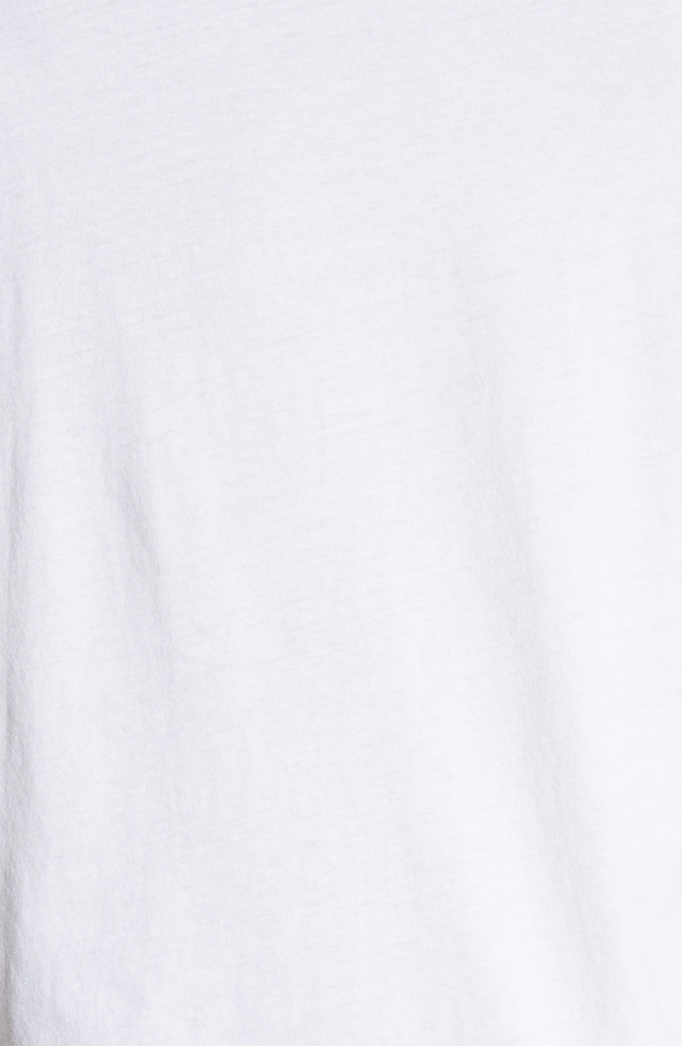 Darnley Standard Fit Tee,                             Alternate thumbnail 5, color,                             White