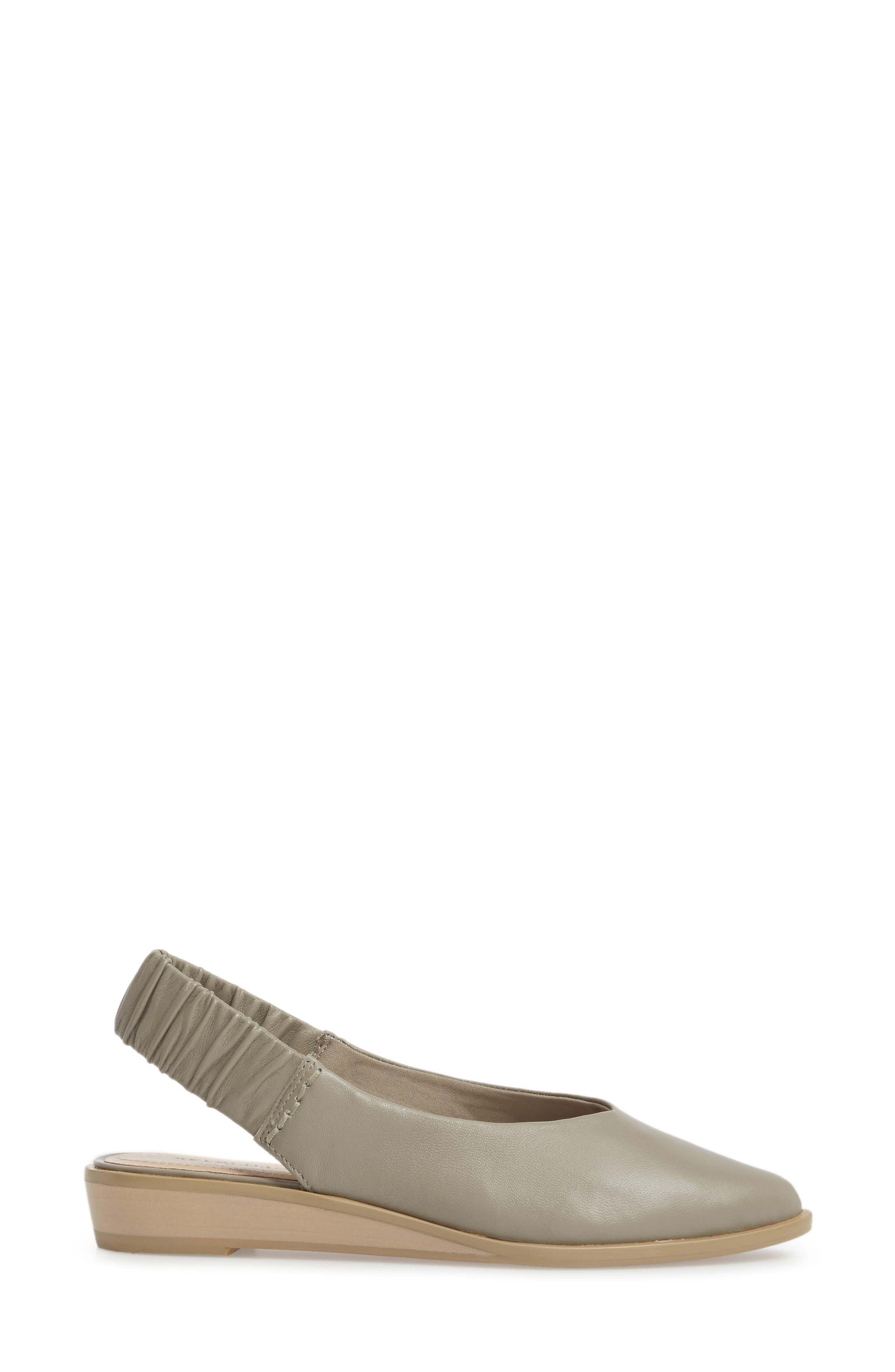 Alton Slingback Sandal,                             Alternate thumbnail 3, color,                             Clove Leather