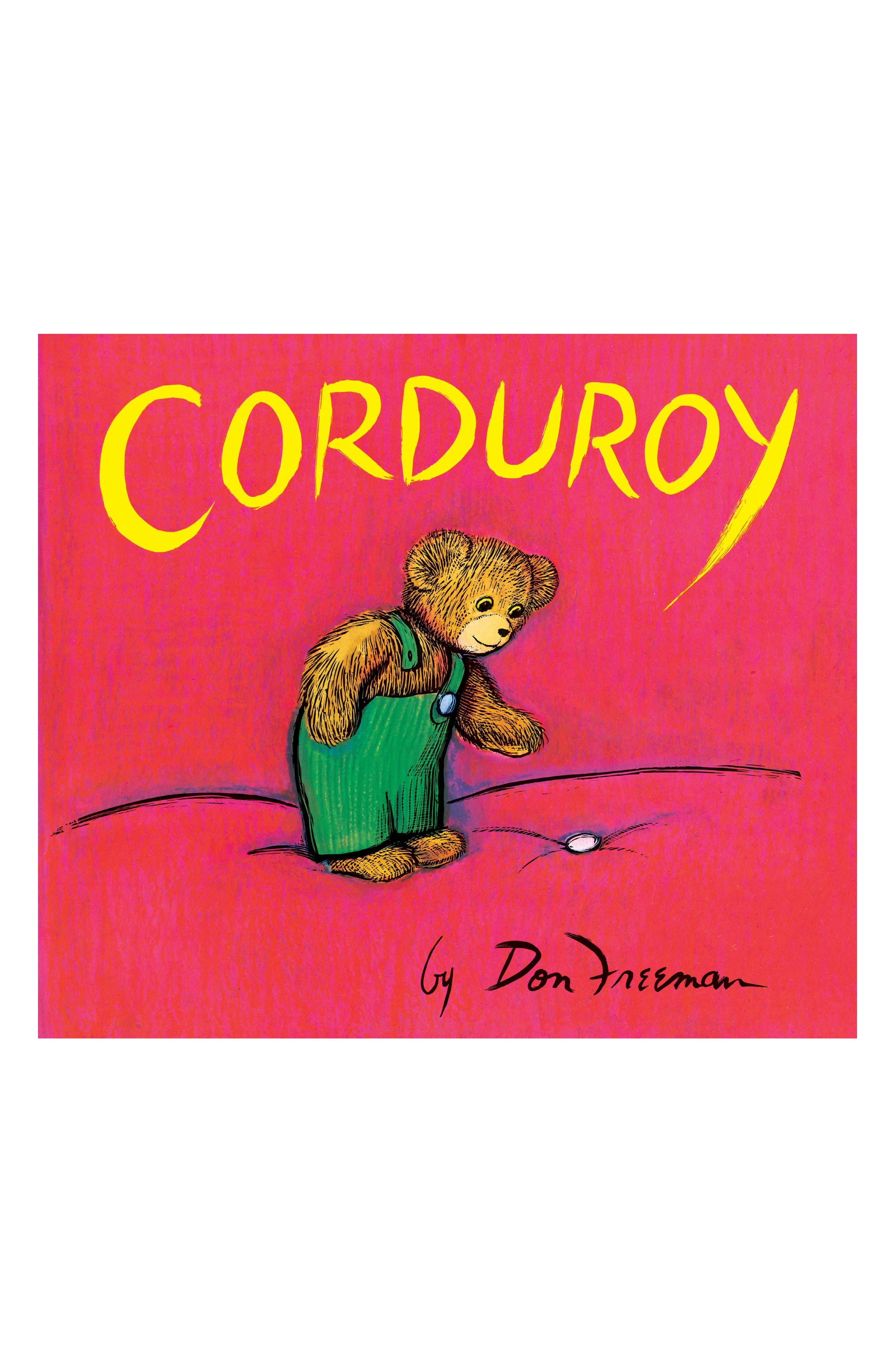 'Corduroy' Board Book,                             Main thumbnail 1, color,                             Red