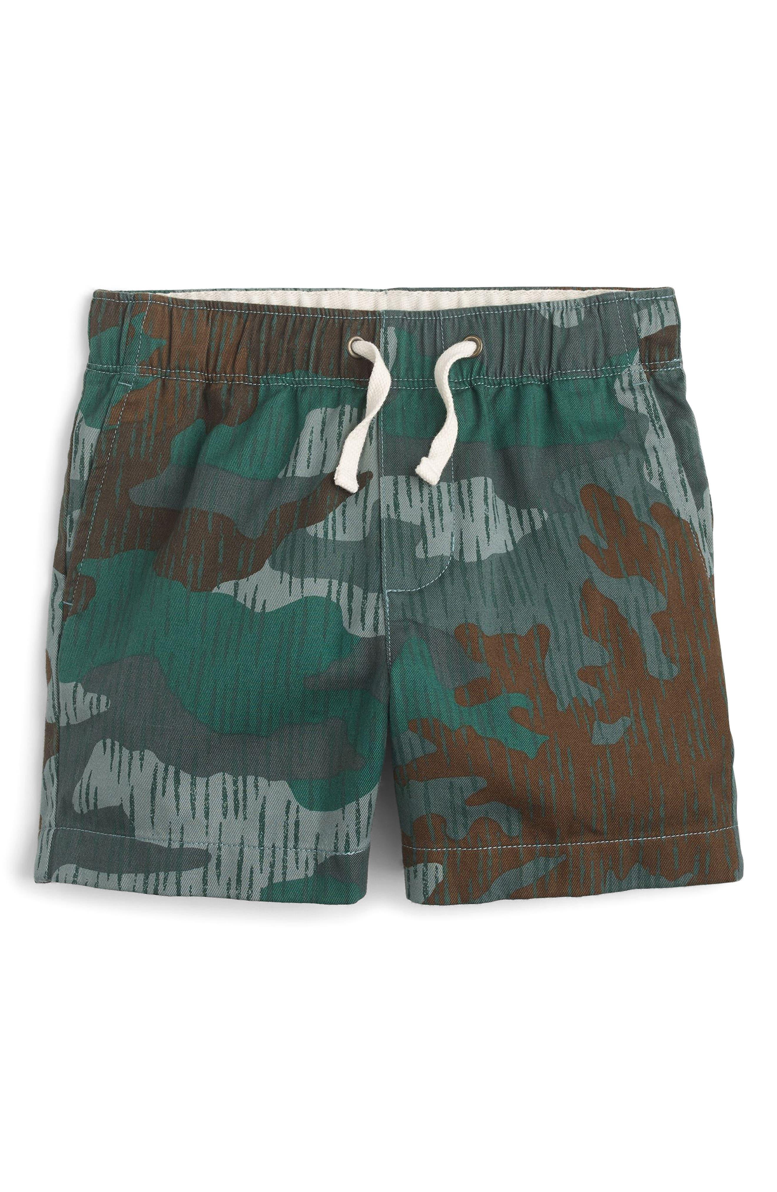 Camo Dock Shorts,                             Main thumbnail 1, color,                             Splinter Camo