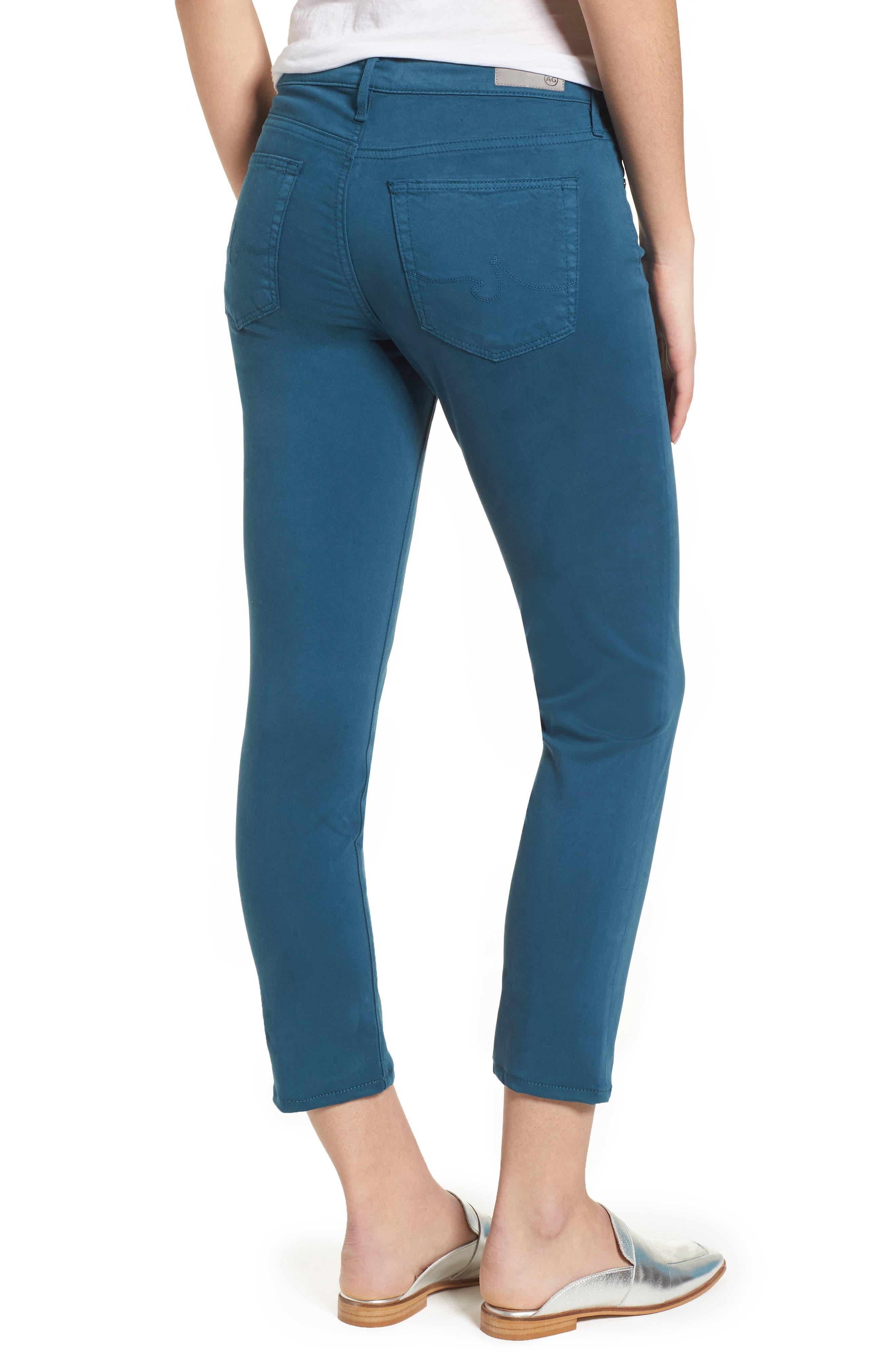 Alternate Image 2  - AG The Prima Crop Cigarette Jeans