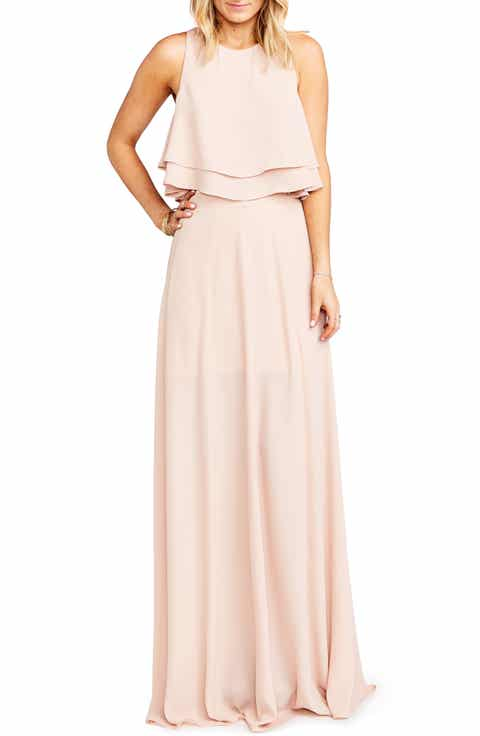 Show Me Your Mumu Princess Ariel A-Line Chiffon Maxi Skirt