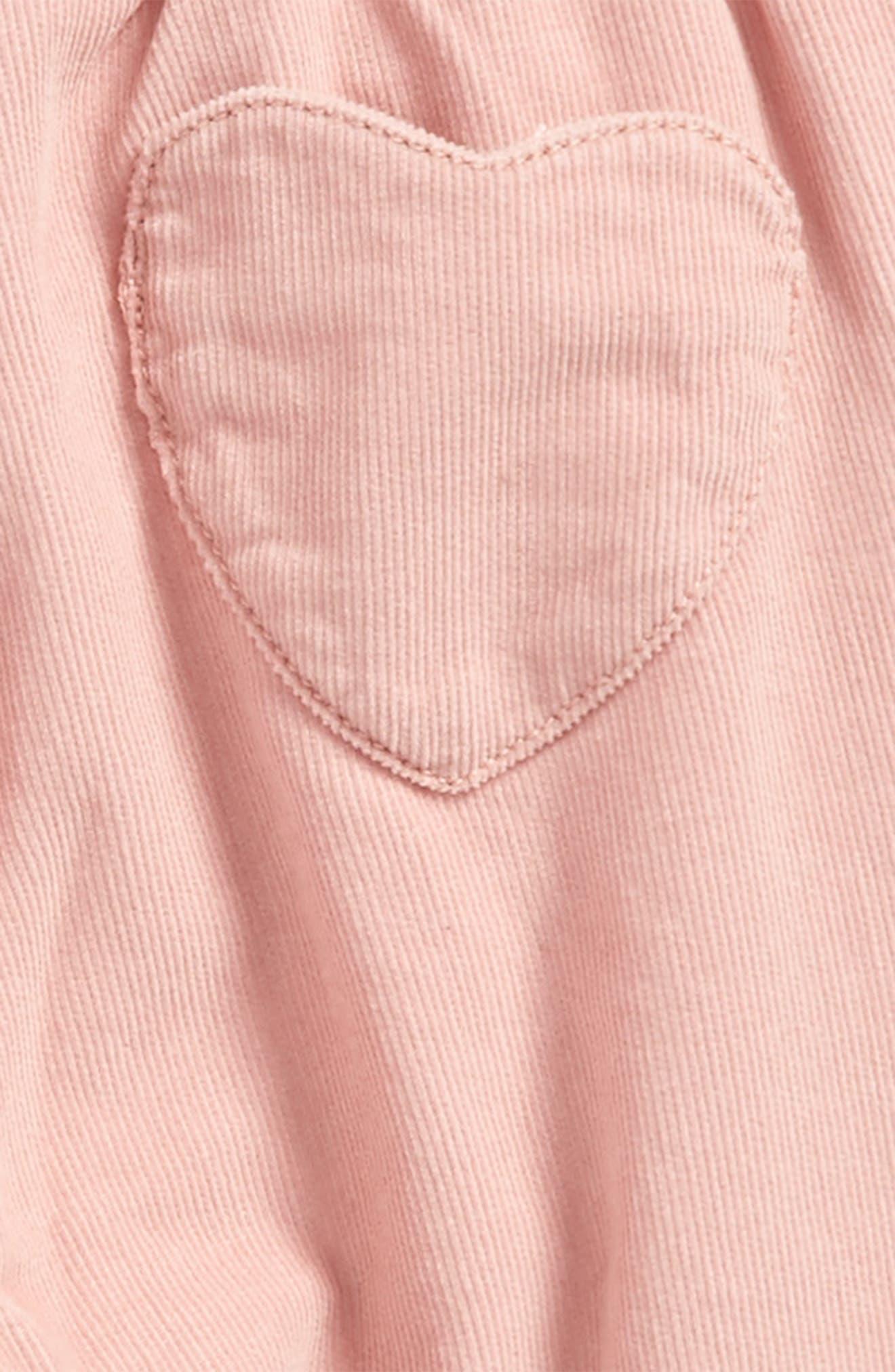 Alternate Image 3  - Mini Boden Heart Pocket Corduroy Pants (Baby Girls & Toddler Girls)
