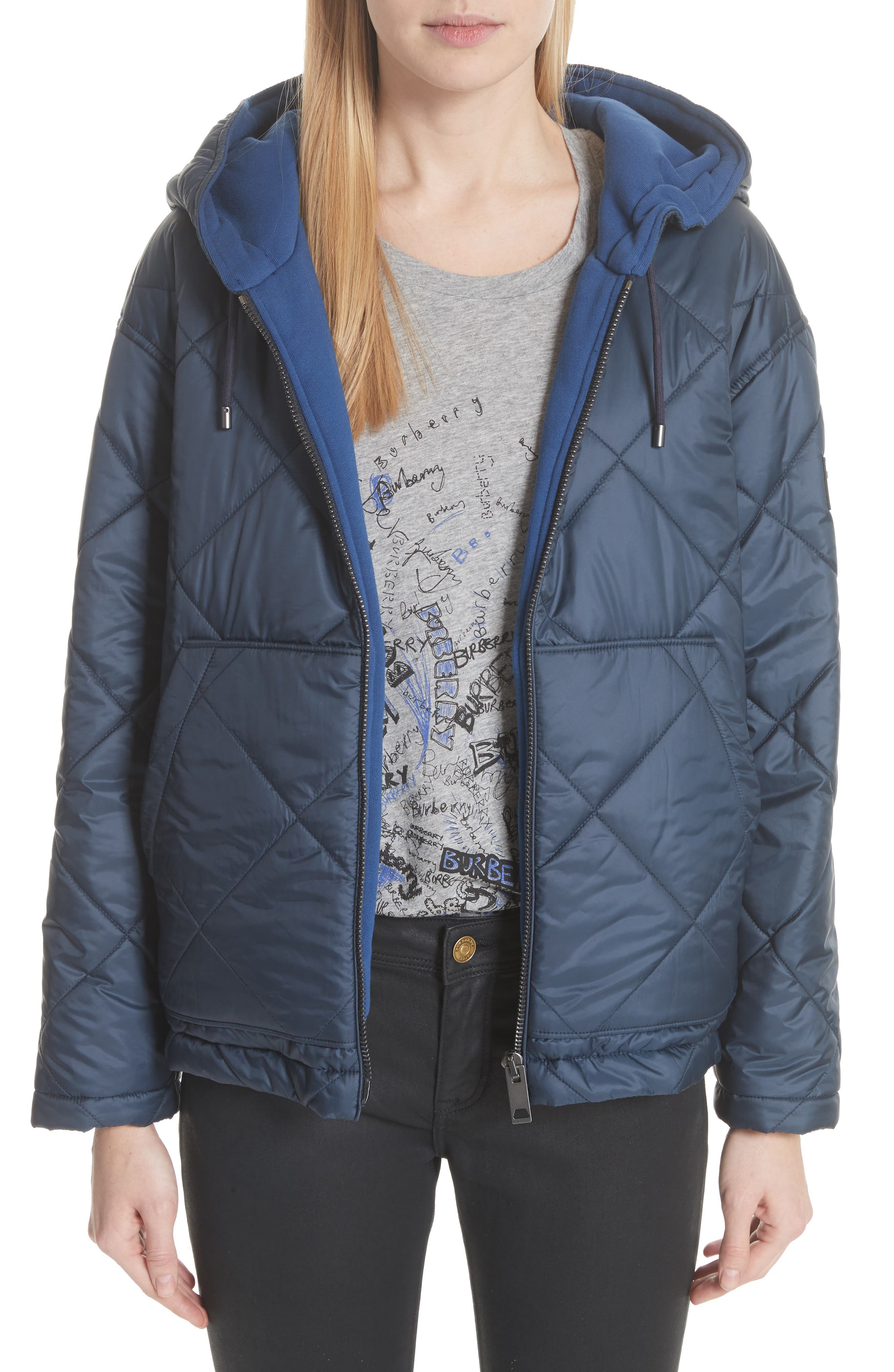 Burberry Tyneham Lined Quilted Jacket