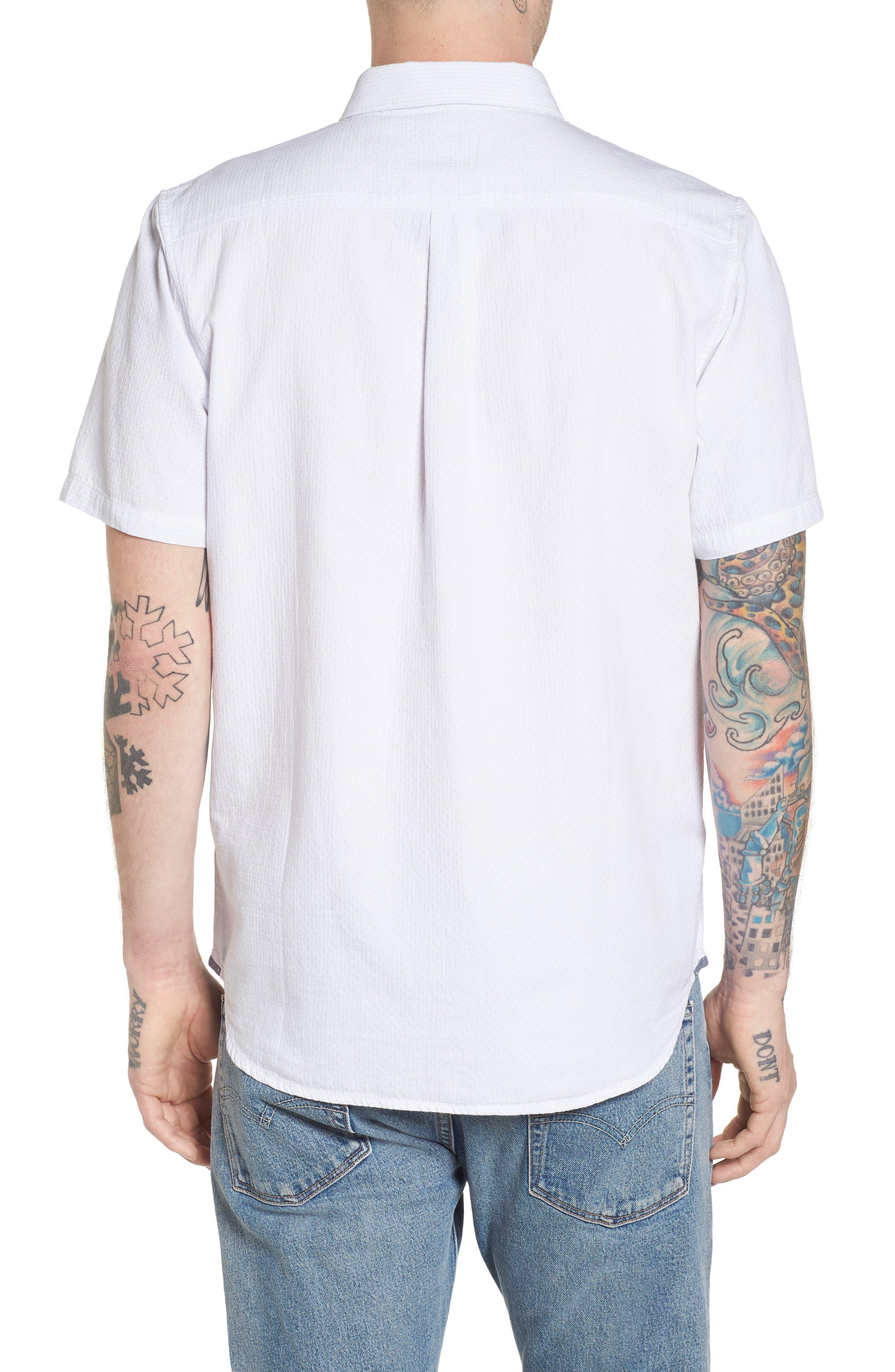 Fairdale Woven Shirt,                             Alternate thumbnail 3, color,                             White