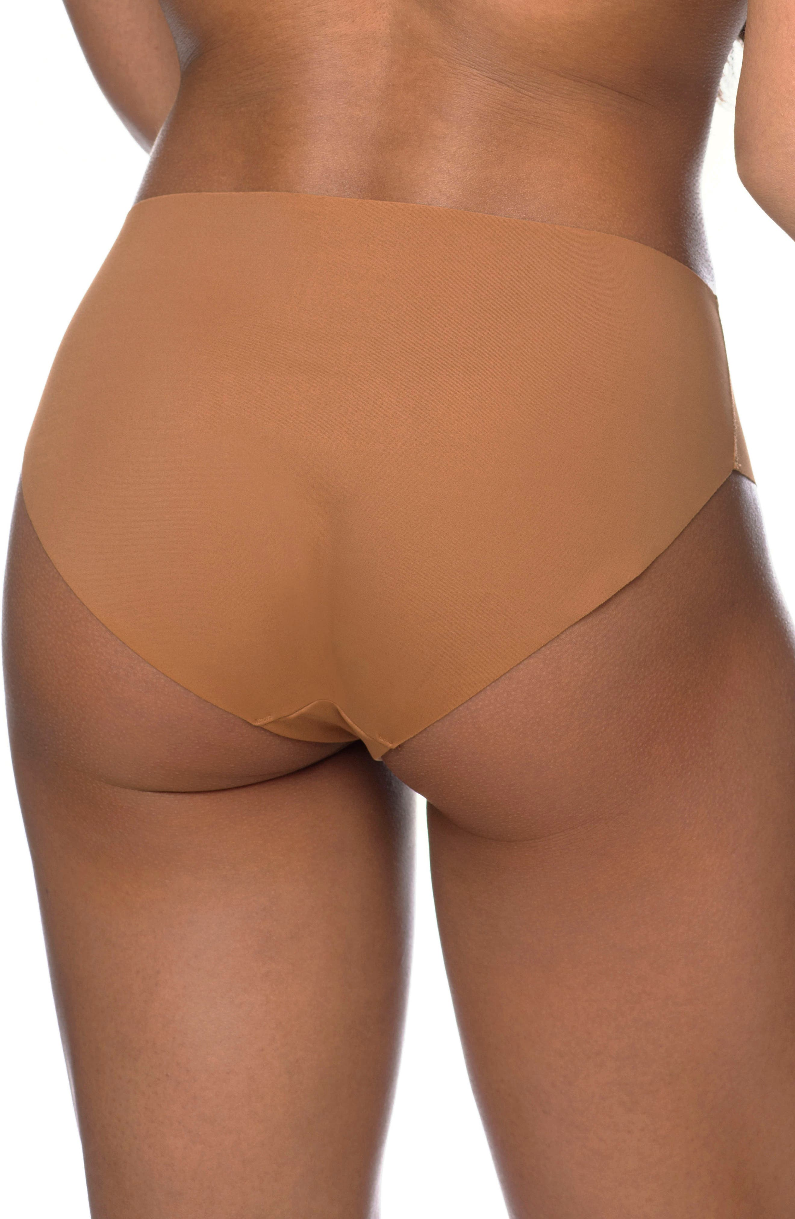 Naked Classic Briefs,                             Alternate thumbnail 2, color,                             Caramel