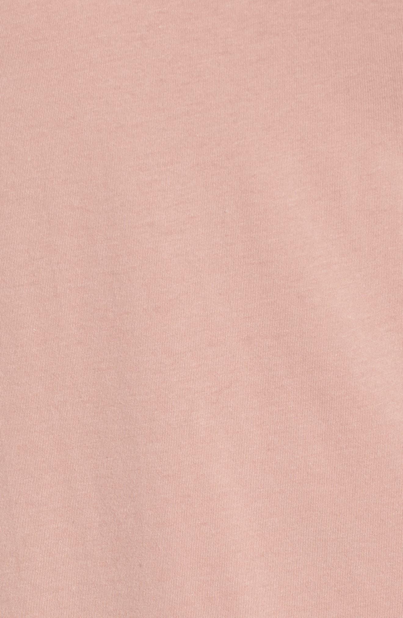 Alternate Image 5  - Glamorous Illusion Neck Shift Dress (Plus Size)