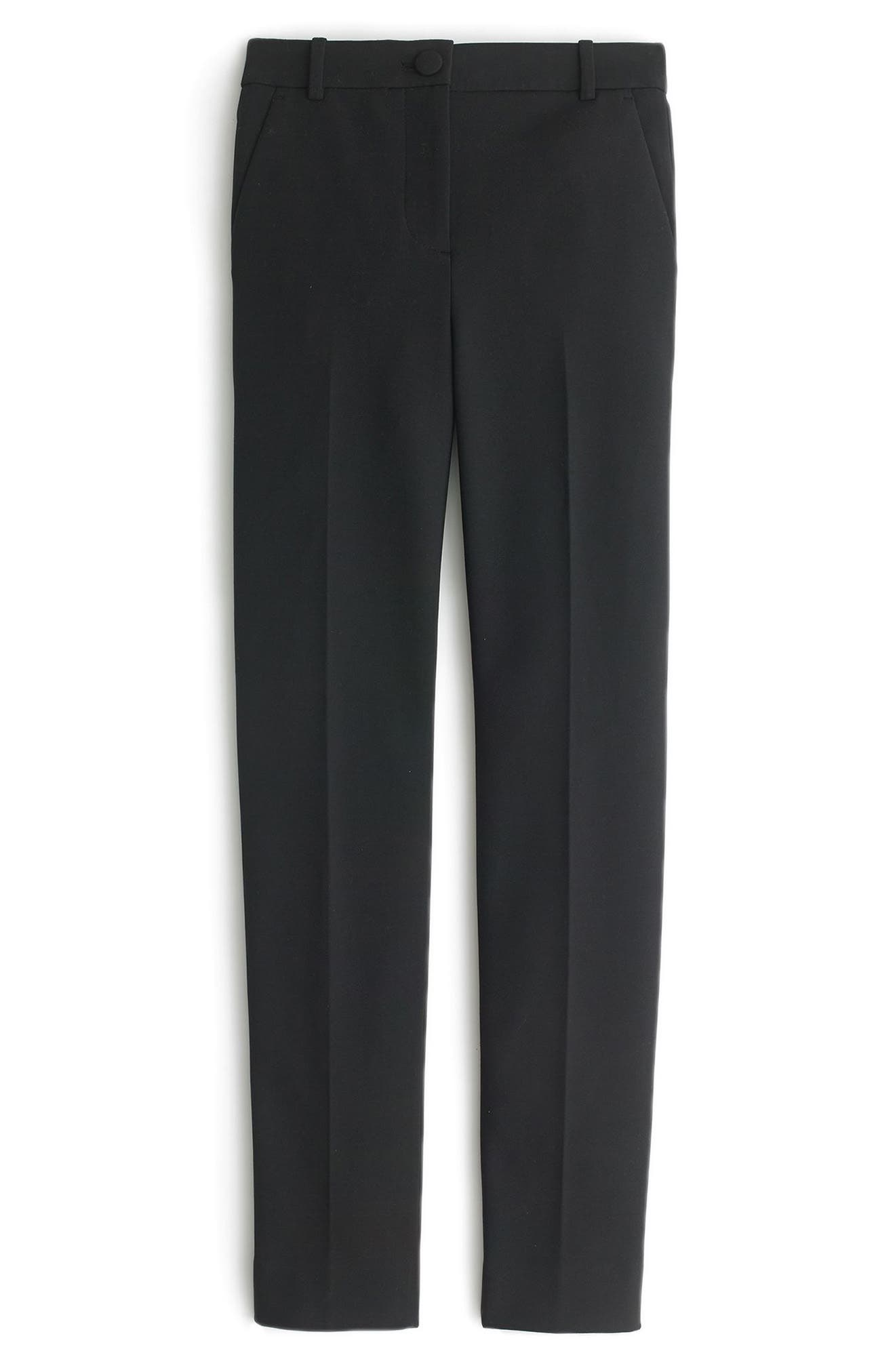 J.Crew Cameron Seasonless Stretch Pants (Regular & Petite)