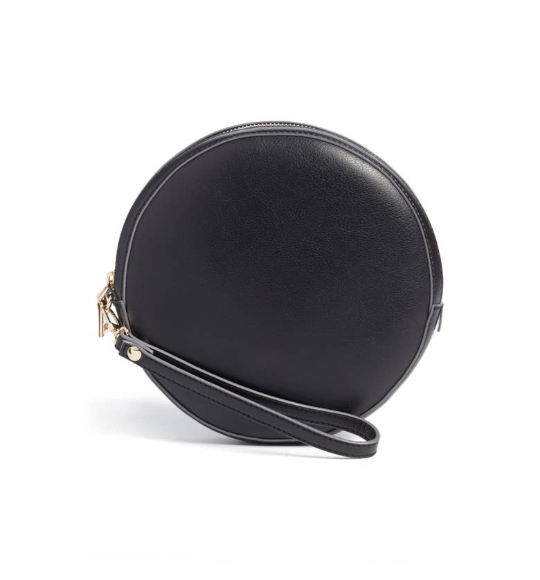 Sole Society Smooth Circle Crossbody