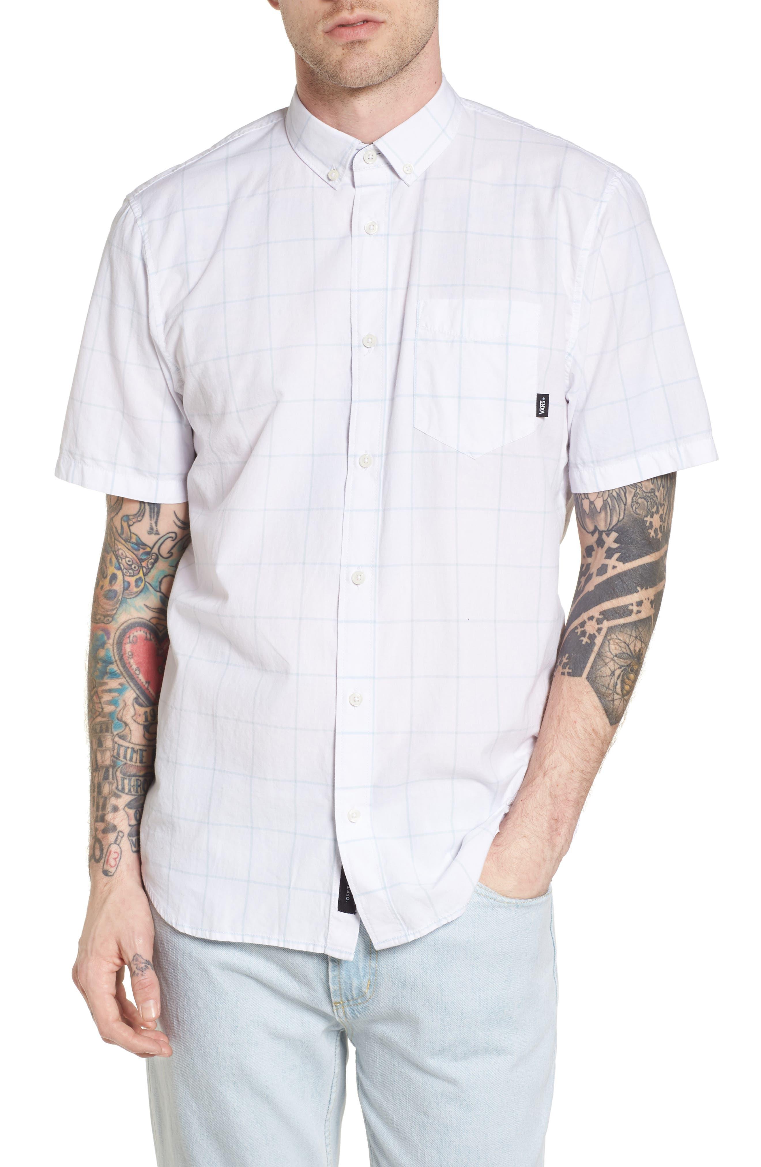 Main Image - Vans Benham Short-Sleeve Shirt