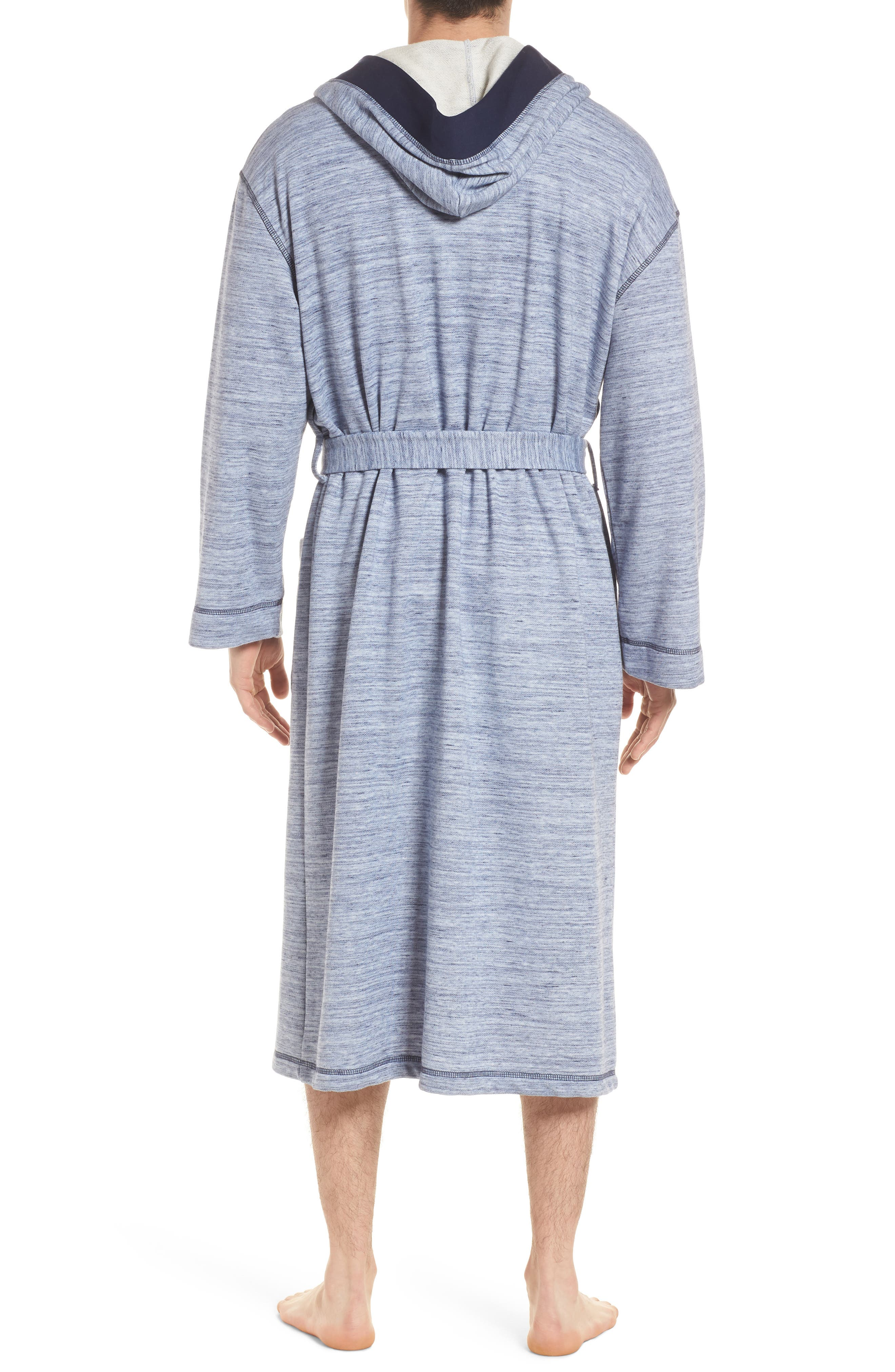 Swept In Waves Robe,                             Alternate thumbnail 2, color,                             Alfresco French Terry