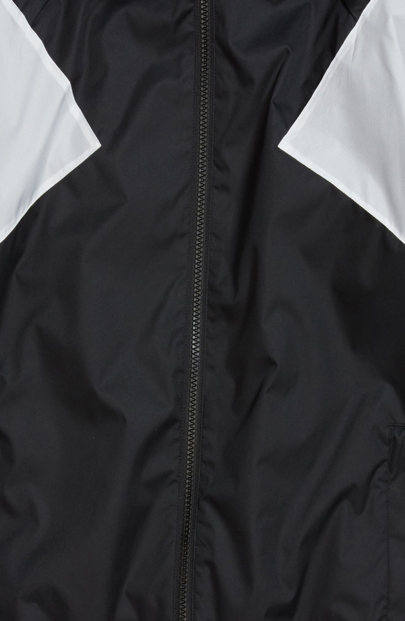 Alternate Image 2  - adidas Originals EQT Hooded Windbreaker Jacket (Little Boys & Big Boys)
