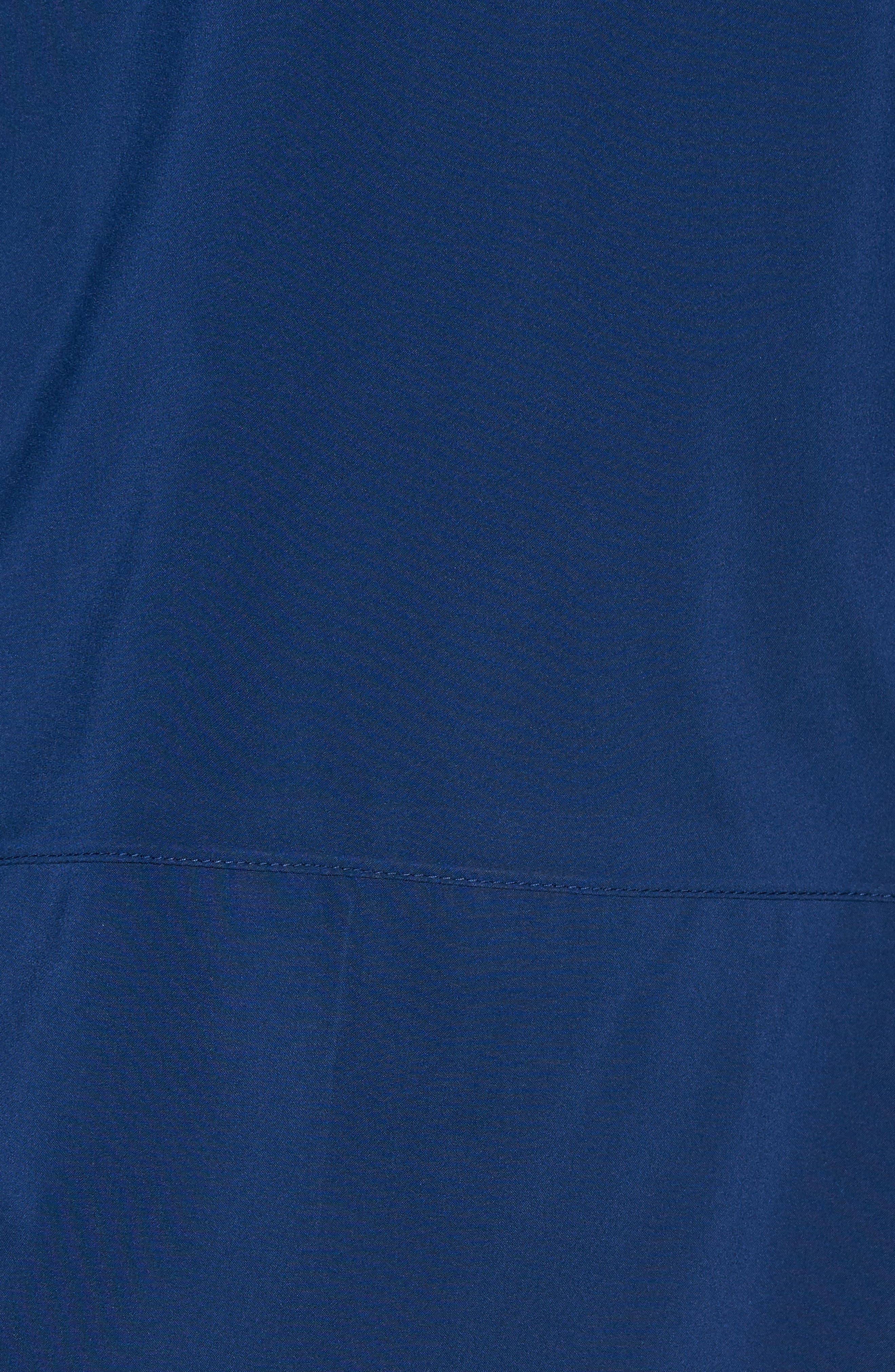 Regular Fit Half Zip Performance Pullover,                             Alternate thumbnail 5, color,                             Navy