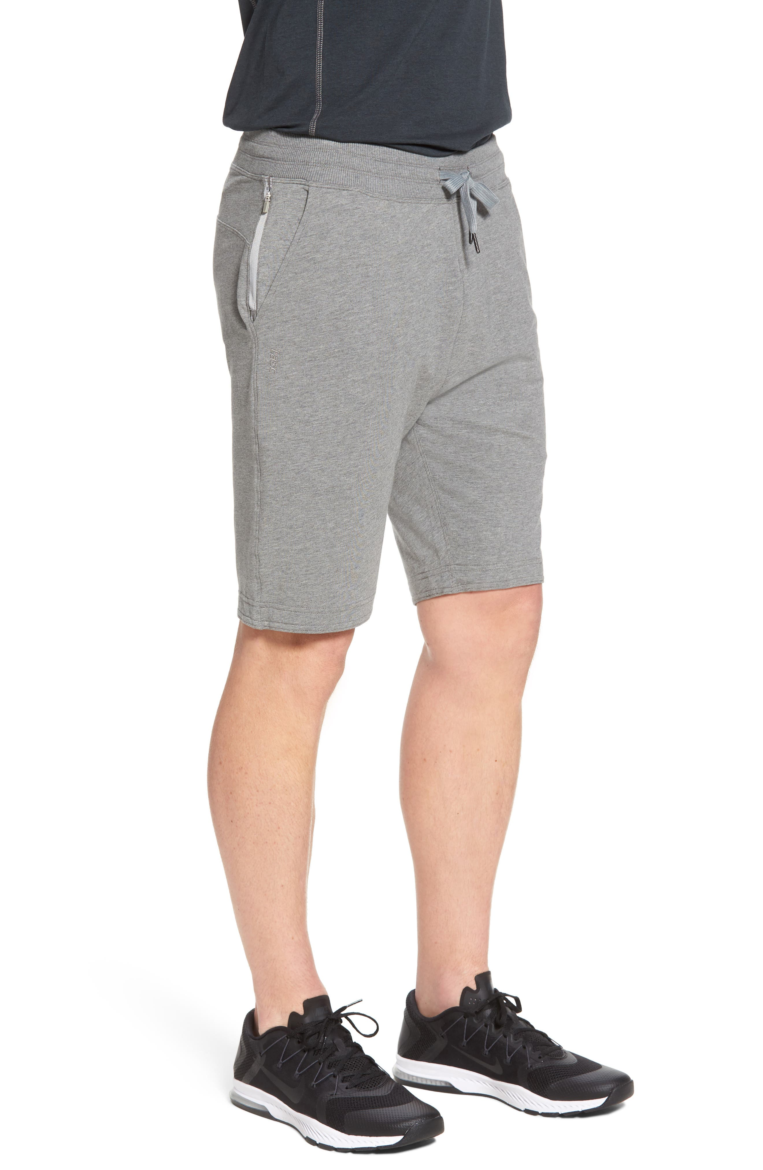 Legacy Lounge Shorts,                             Alternate thumbnail 3, color,                             Heather Grey