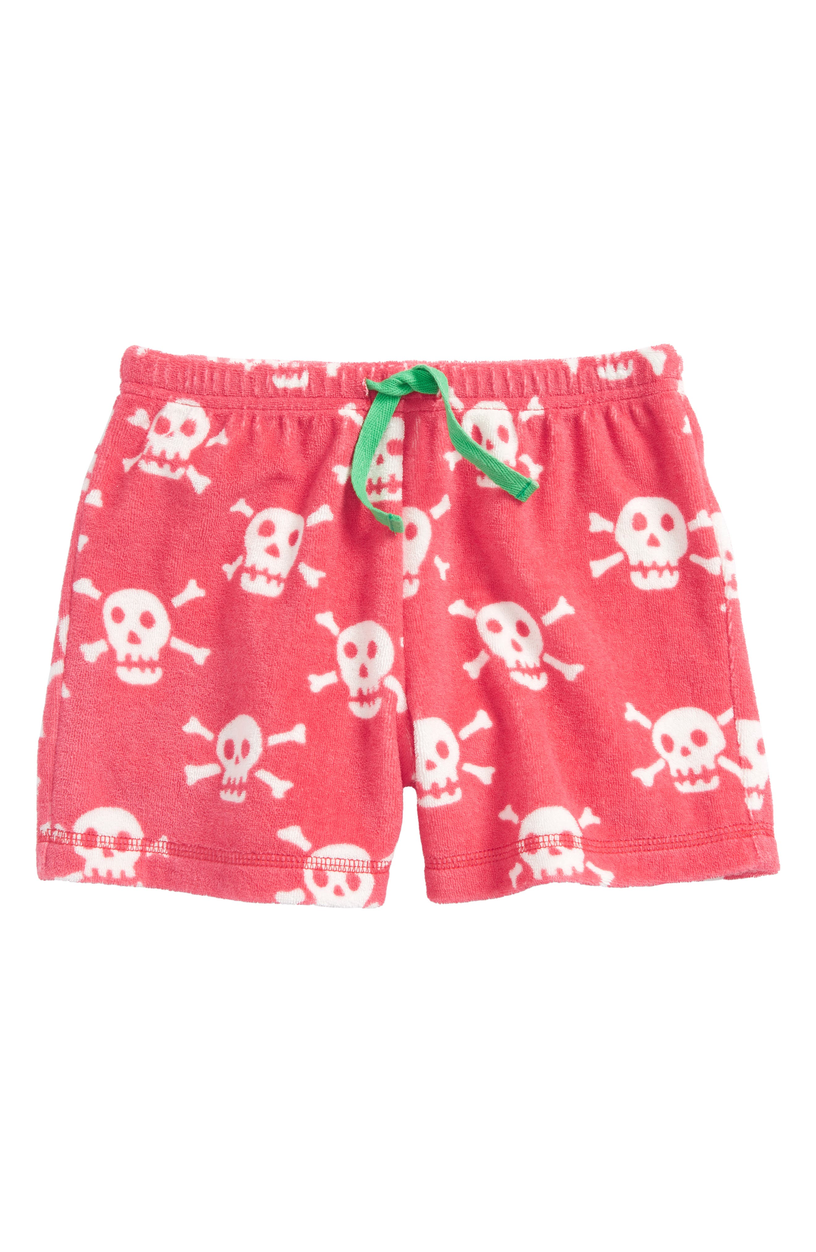 Mini Boden Adventure Towelling Shorts (Toddler Girls, Little Girls & Big Girls)
