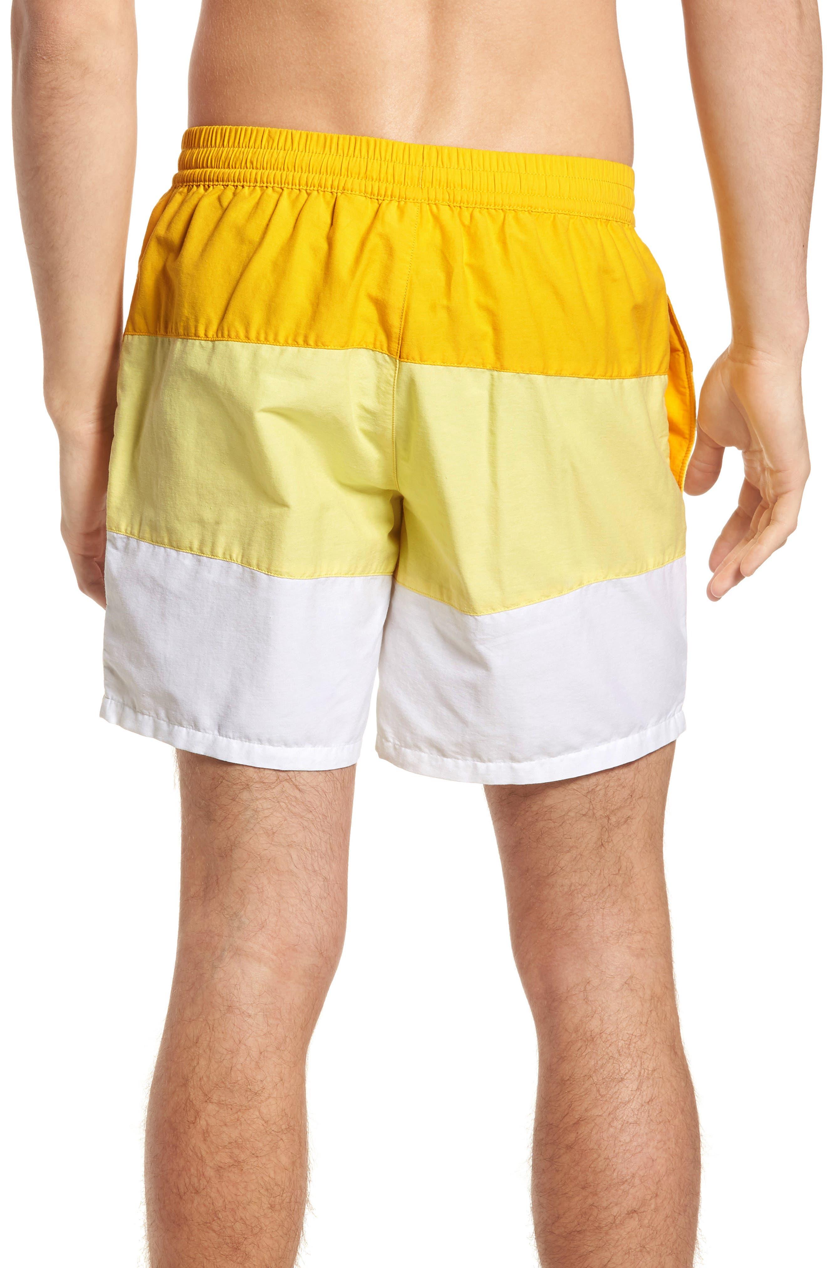 Alternate Image 2  - Lacoste Colorblock Swim Trunks