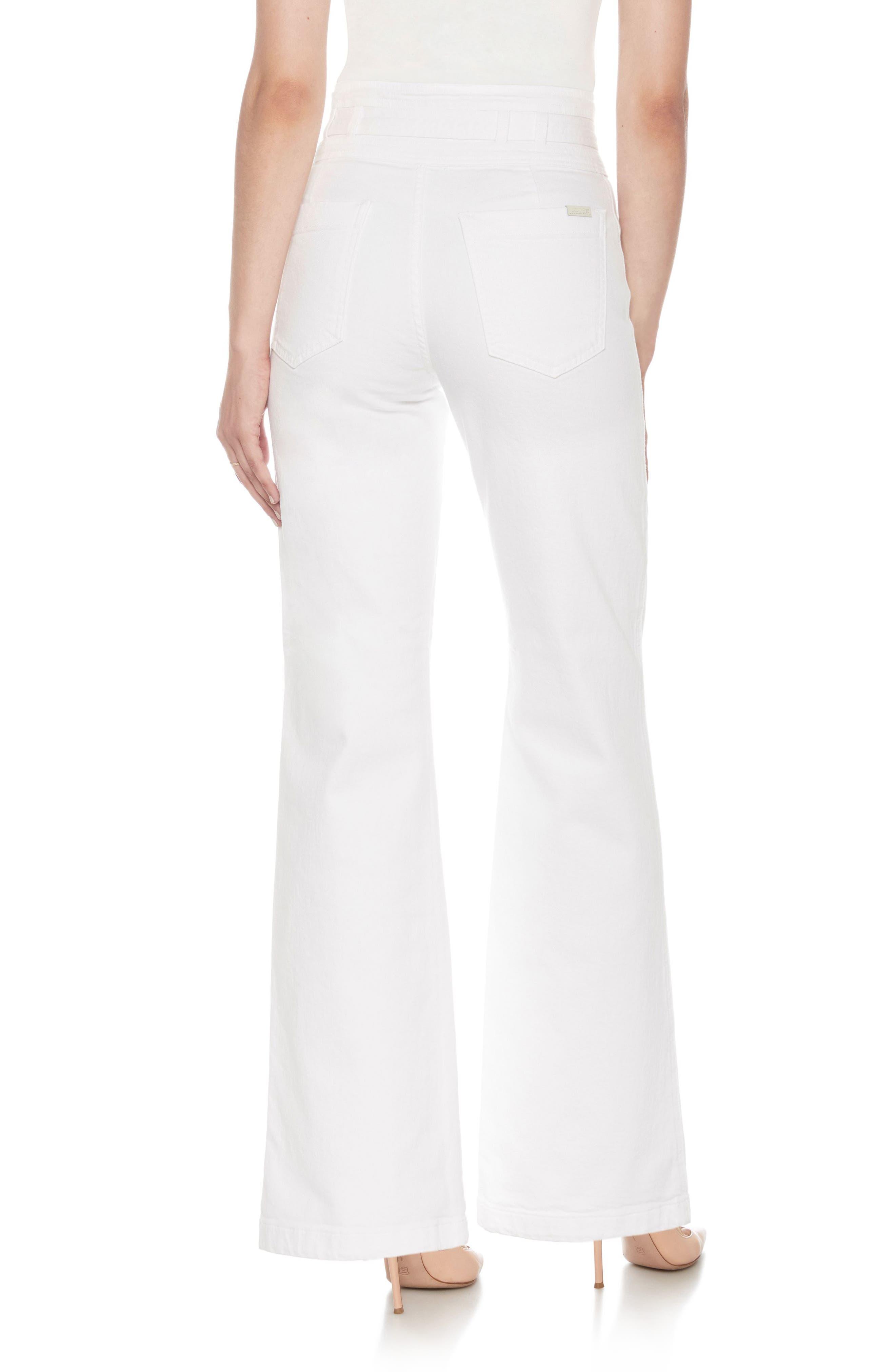High Waist Flare Jeans,                             Alternate thumbnail 2, color,                             Luiza