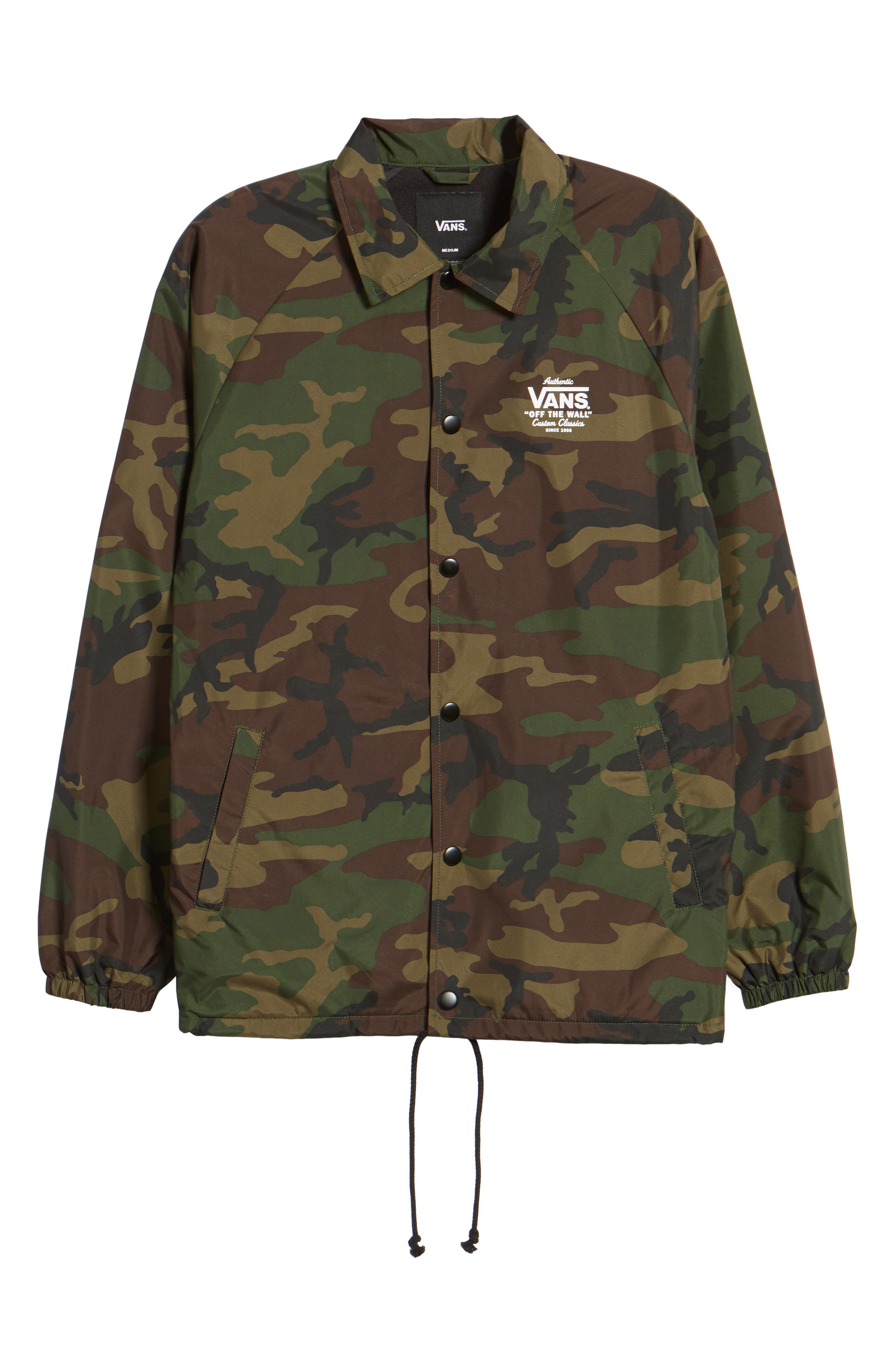 Torrey Water Resistant Coach's Jacket,                             Alternate thumbnail 6, color,                             Camo