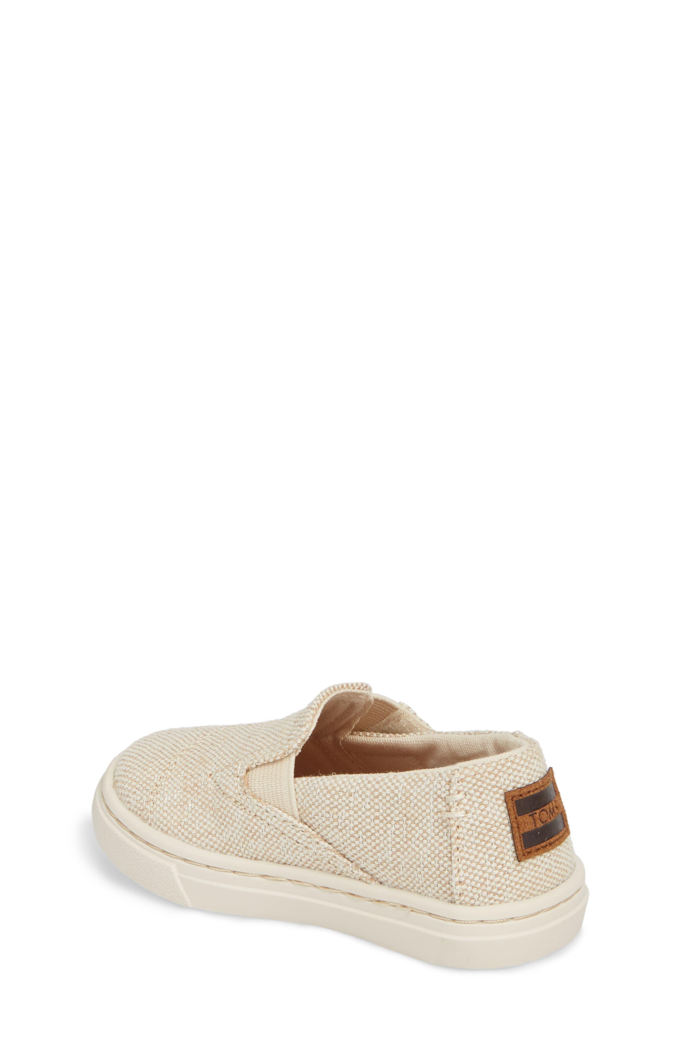 Luca Slip-On Sneaker,                             Alternate thumbnail 2, color,                             Natural Metallic Jute