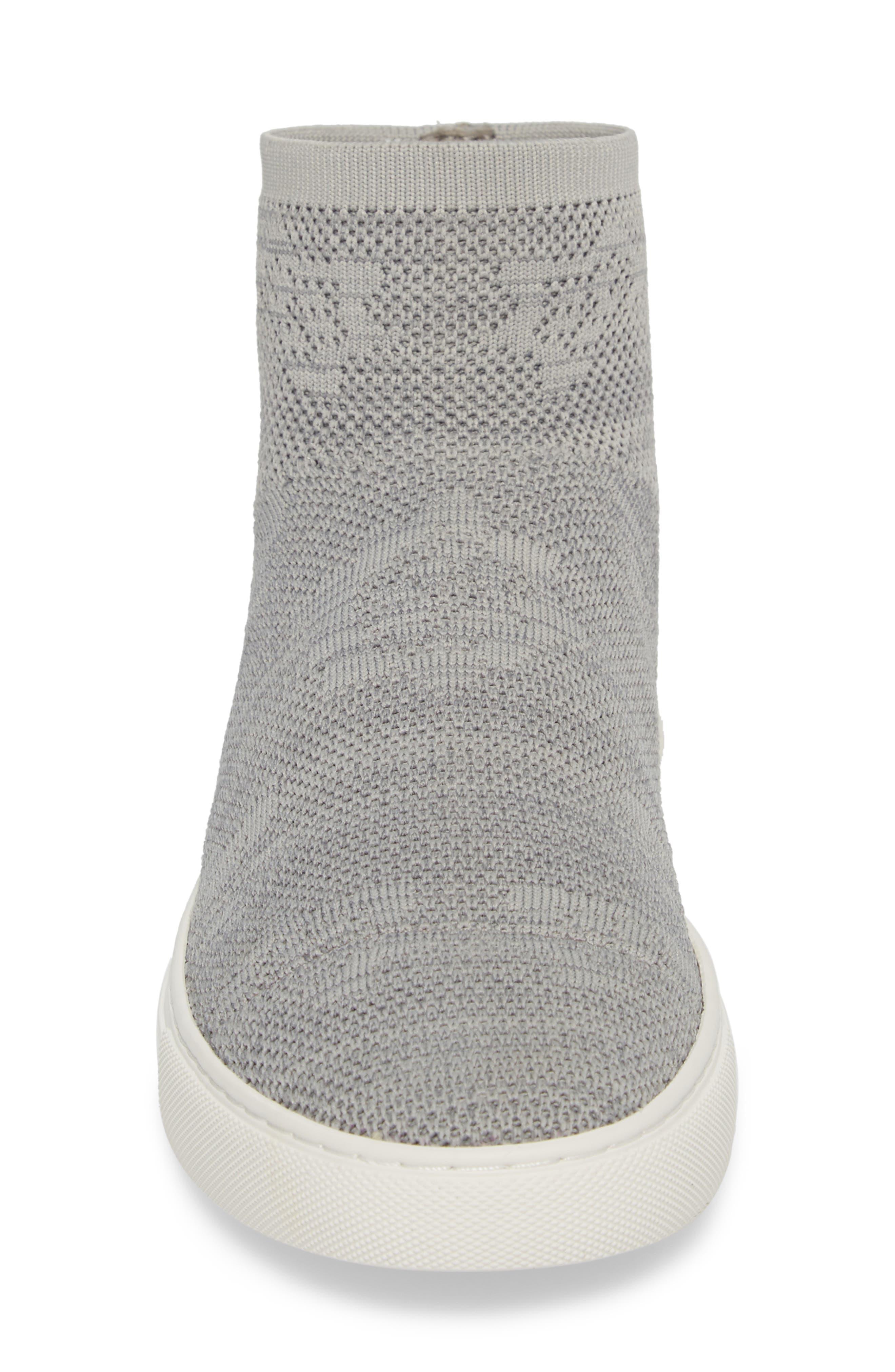 Keating Sneaker,                             Alternate thumbnail 4, color,                             Dust Grey Fabric