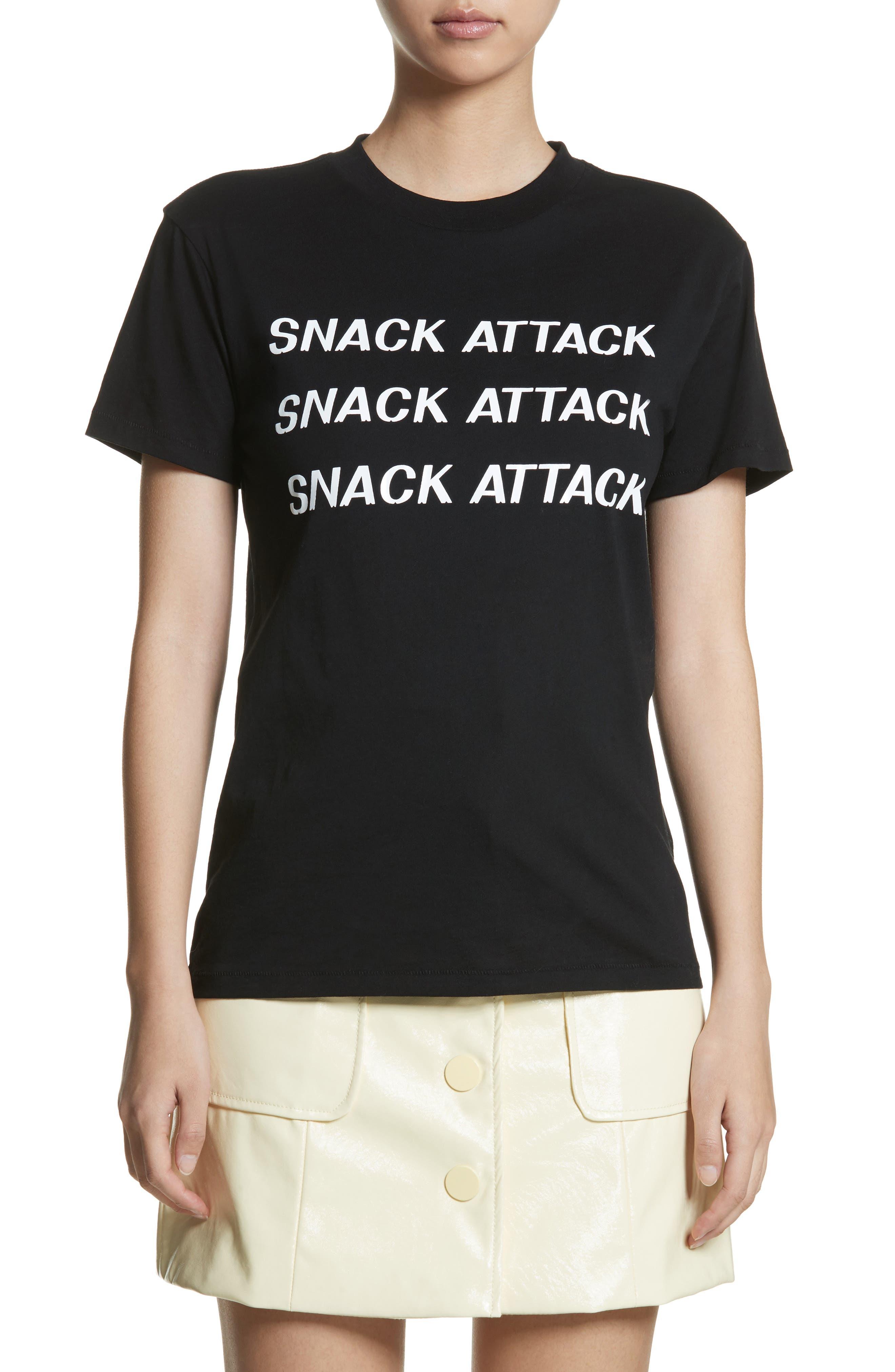 GANNI Harway Snack Attack Tee